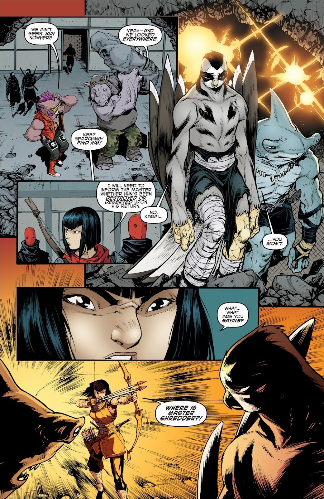 Read online Teenage Mutant Ninja Turtles: The IDW Collection comic -  Issue # TPB 6 (Part 2) - 9