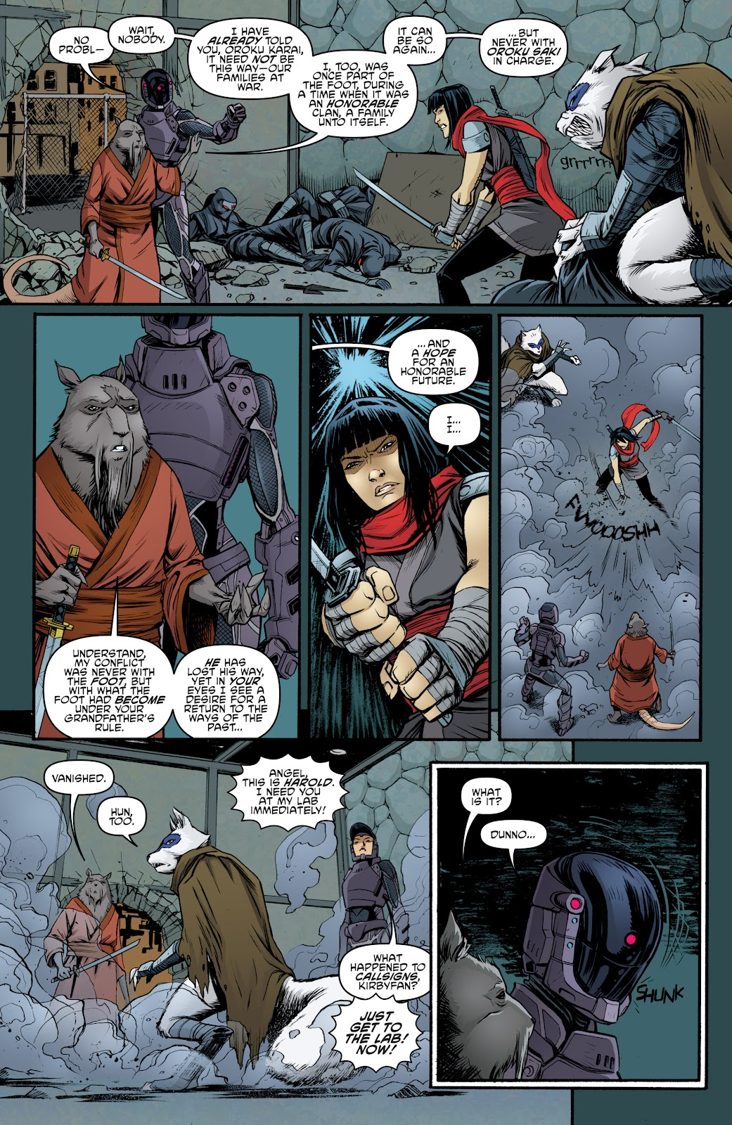 Read online Teenage Mutant Ninja Turtles: The IDW Collection comic -  Issue # TPB 5 (Part 4) - 44