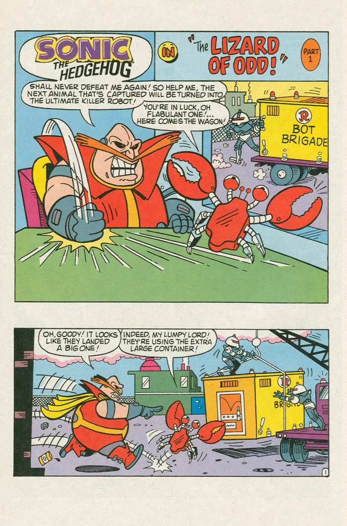 Read online Sonic Super Special comic -  Issue #3 - Sonic Firsts - 25