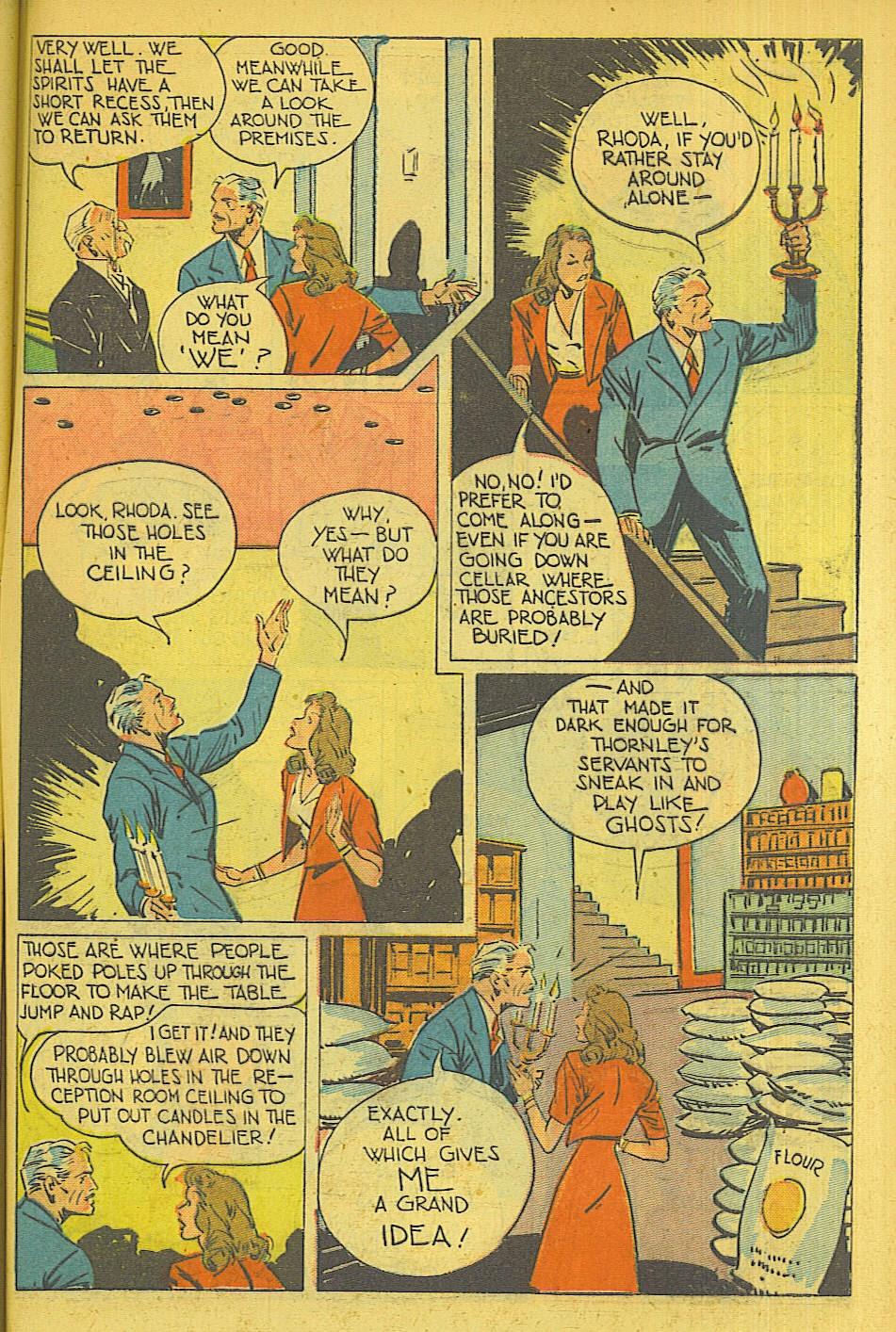 Read online Super-Magician Comics comic -  Issue #39 - 46