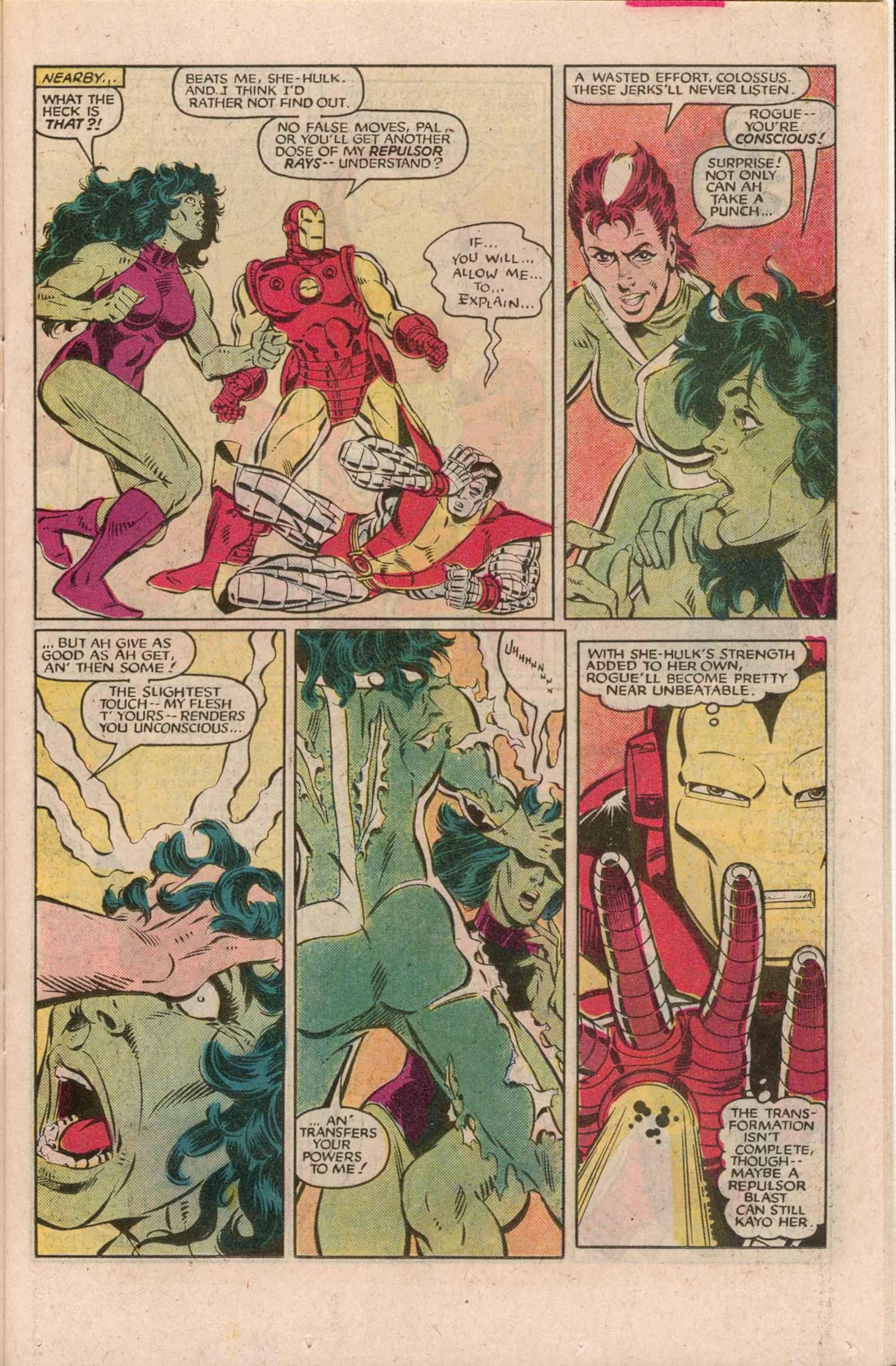 Read online Uncanny X-Men (1963) comic -  Issue # _Annual 7 - 18