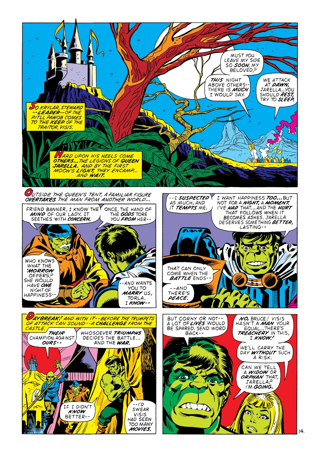 Read online Marvel Masterworks: The Incredible Hulk comic -  Issue # TPB 8 (Part 3) - 75