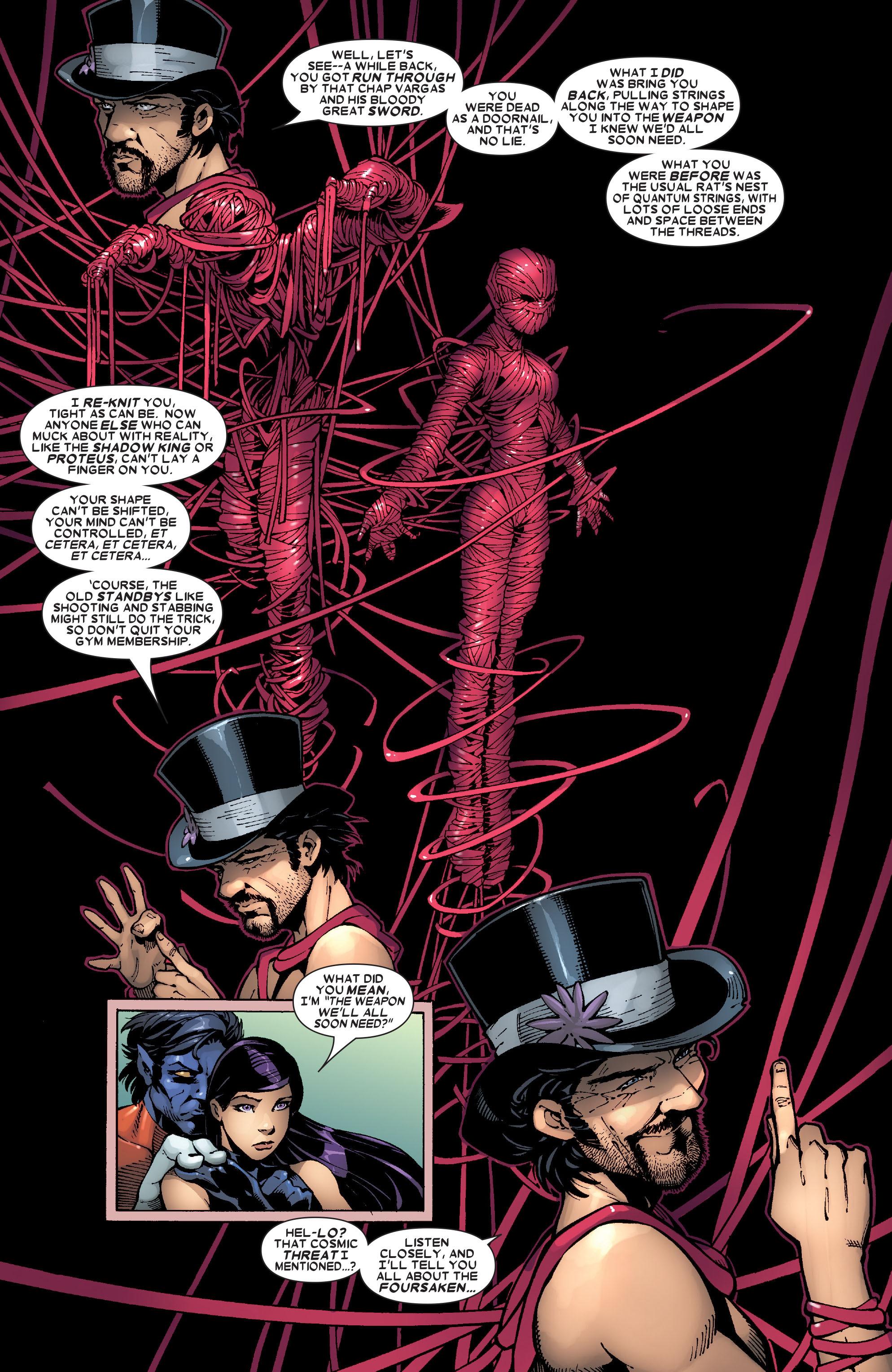 Read online Uncanny X-Men (1963) comic -  Issue #472 - 20