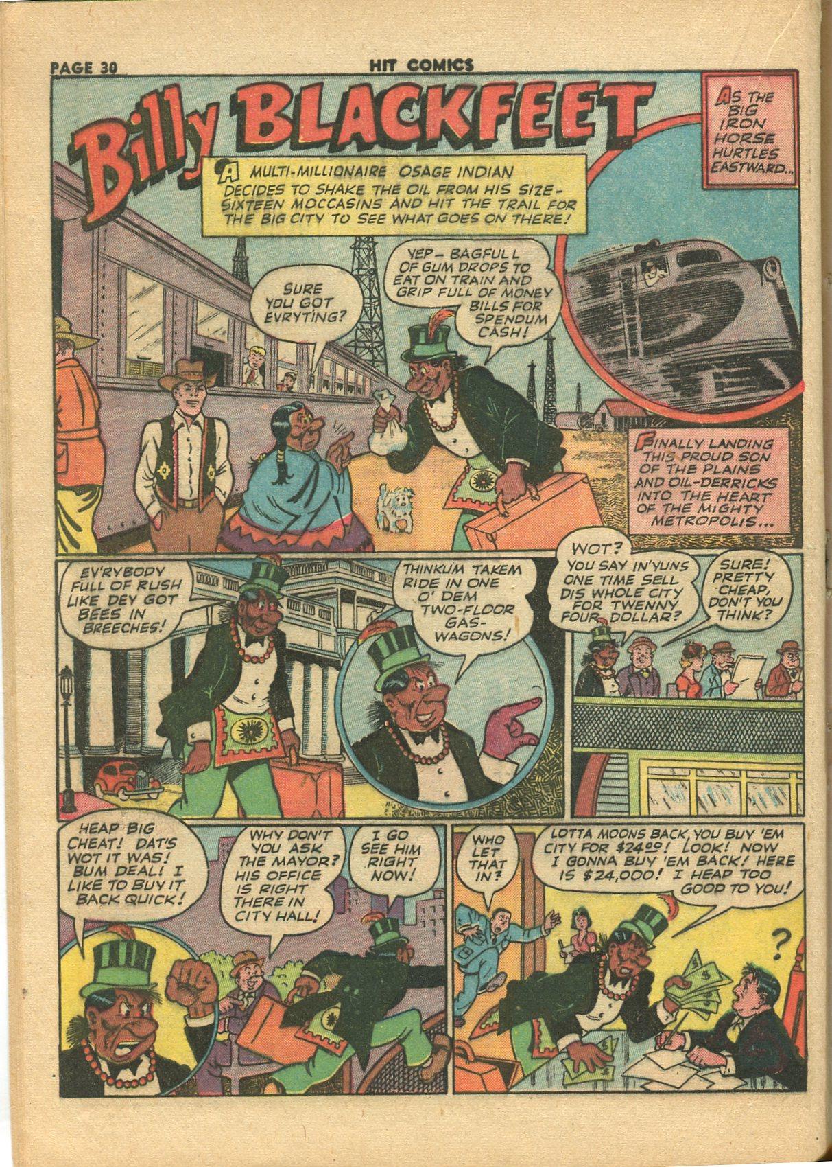 Read online Hit Comics comic -  Issue #28 - 33