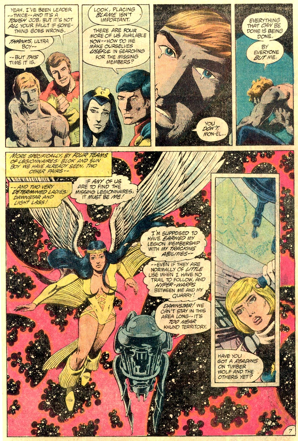 Legion of Super-Heroes (1980) 289 Page 7