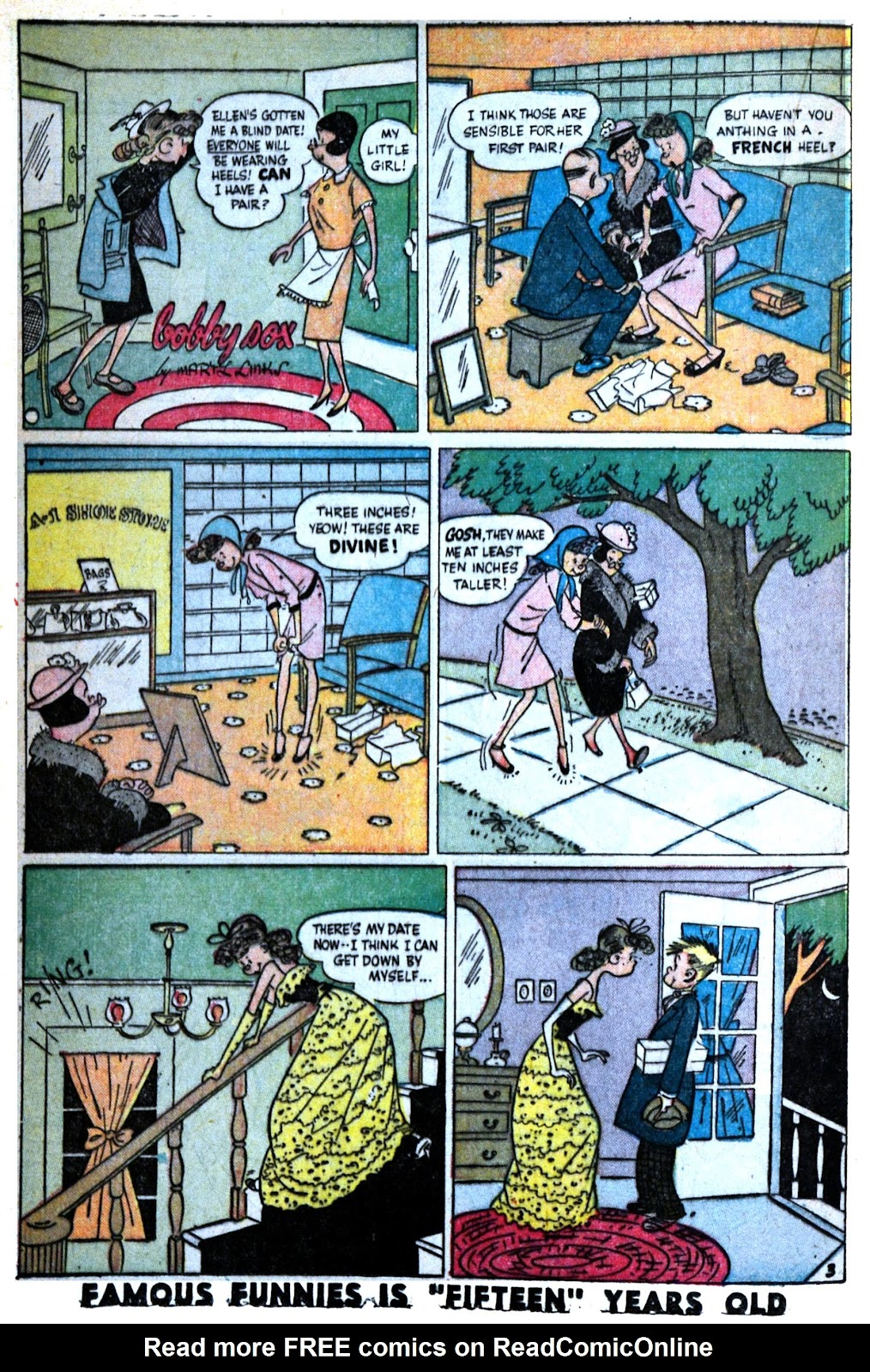 Read online Famous Funnies comic -  Issue #180 - 31