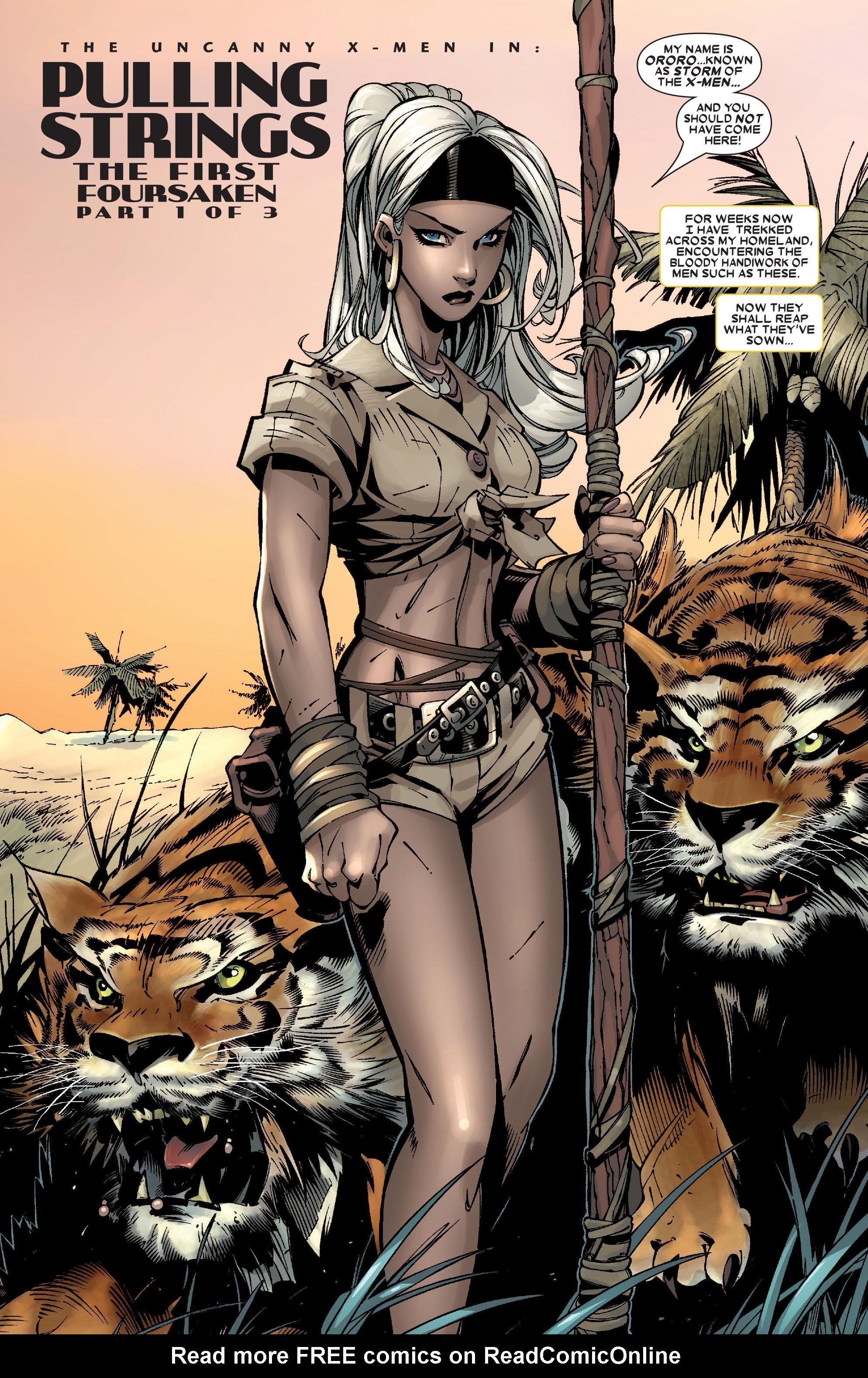 Read online Uncanny X-Men (1963) comic -  Issue #472 - 4