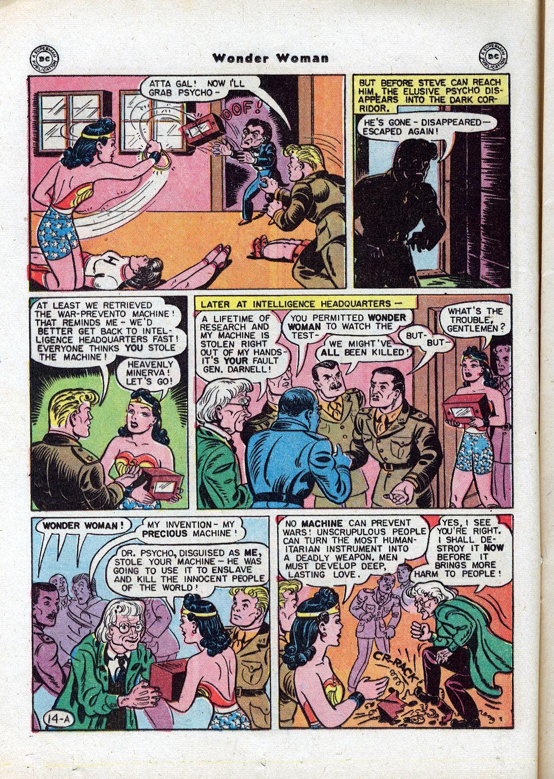Read online Wonder Woman (1942) comic -  Issue #18 - 16