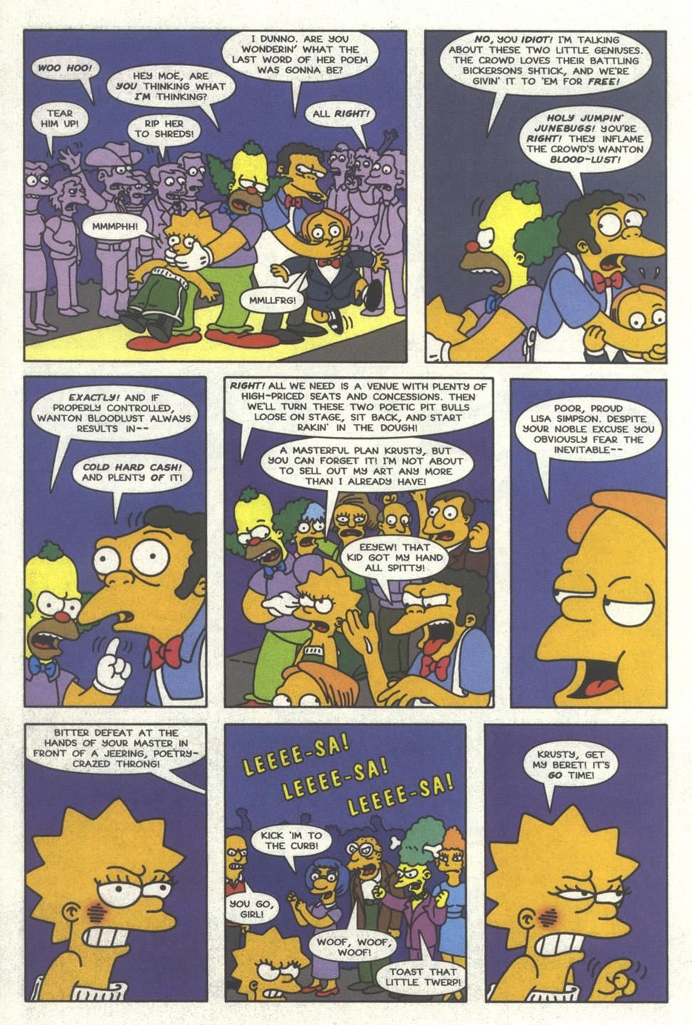 Read online Simpsons Comics comic -  Issue #32 - 19