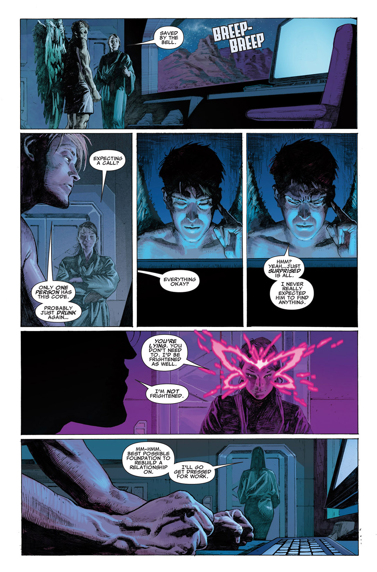 Read online Uncanny X-Force (2010) comic -  Issue #1 - 10