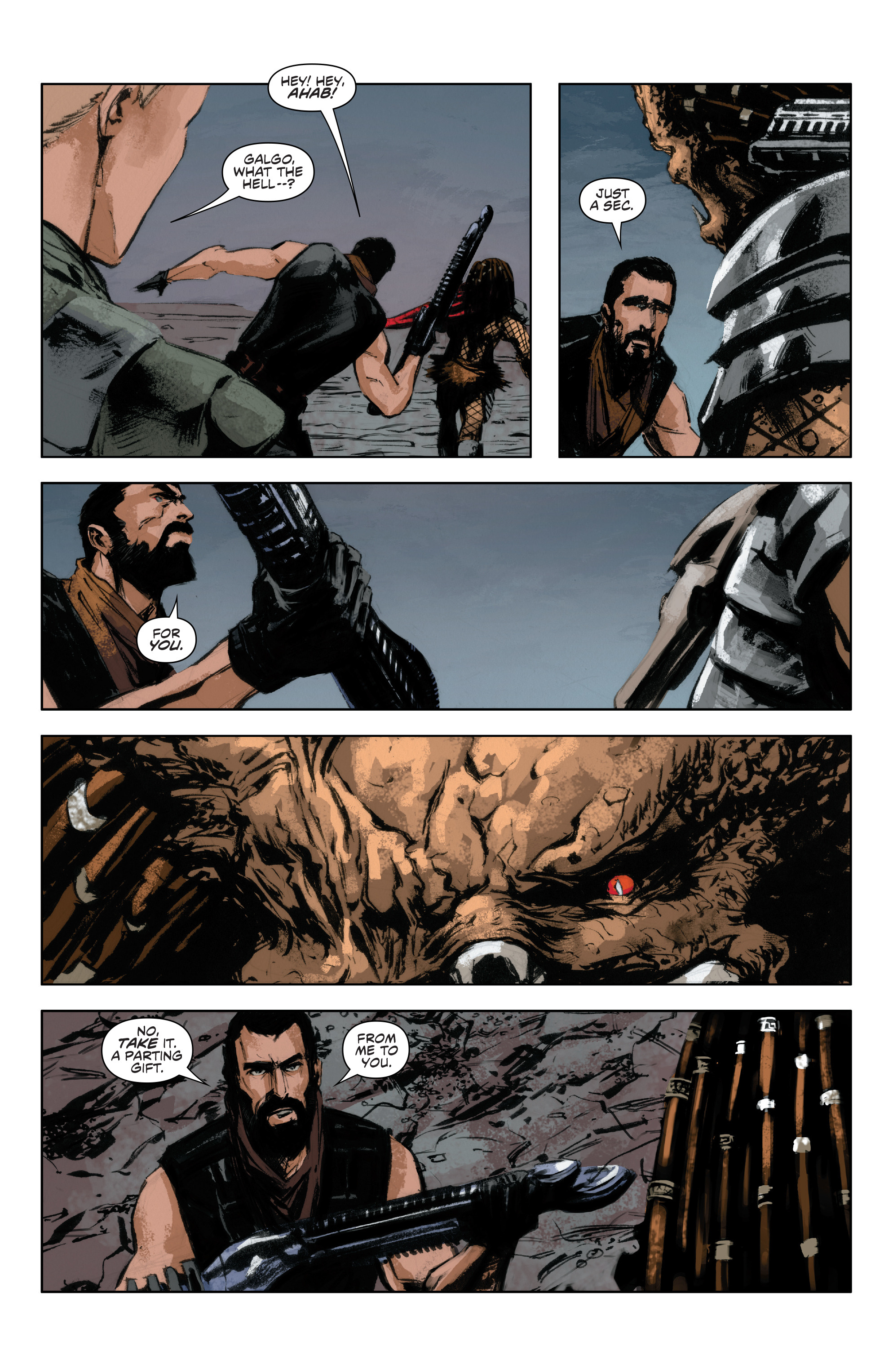 Read online Alien Vs. Predator: Life and Death comic -  Issue #4 - 19
