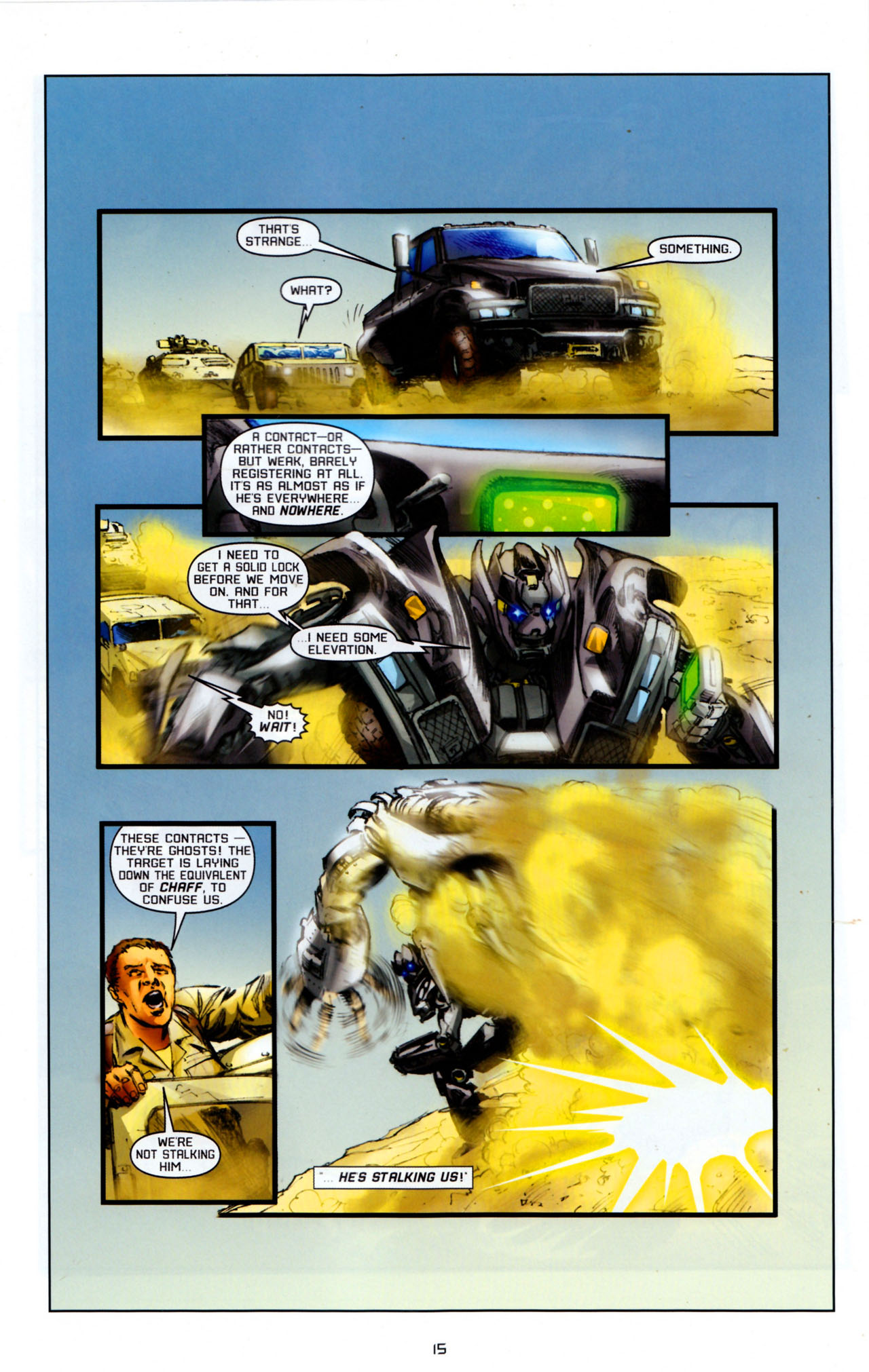 Read online Transformers: Saga of the Allspark comic -  Issue #4 - 18