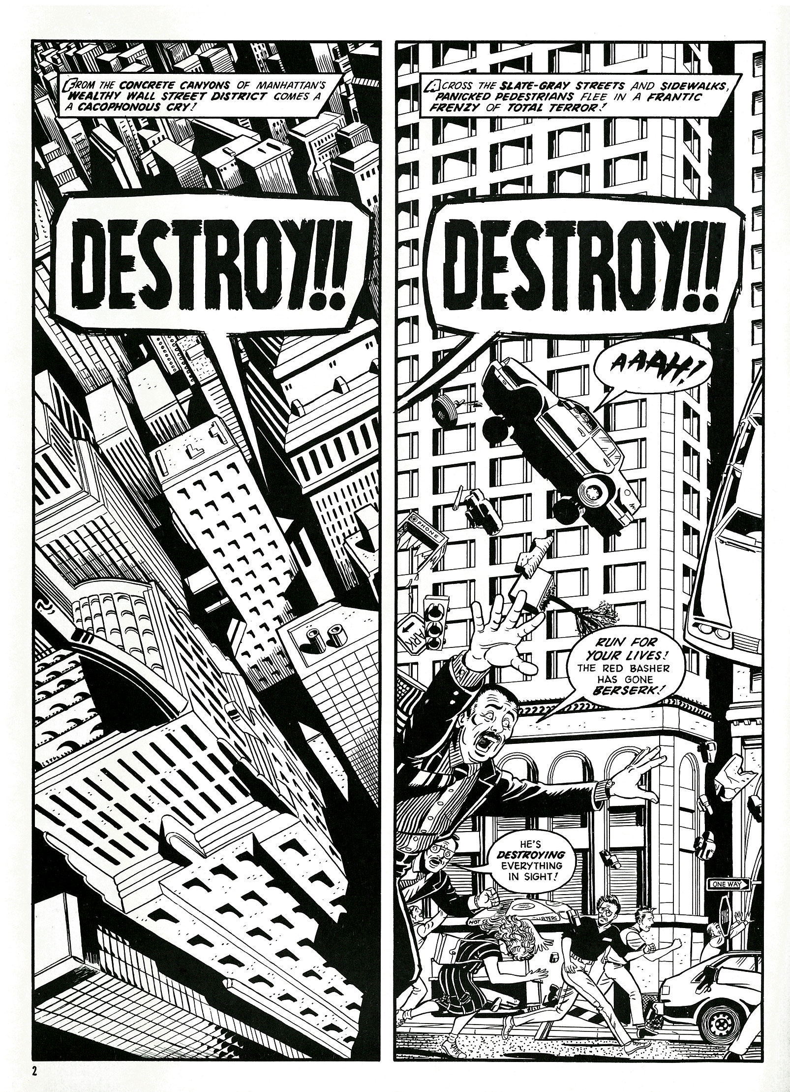 Read online Destroy!! comic -  Issue # Full - 4