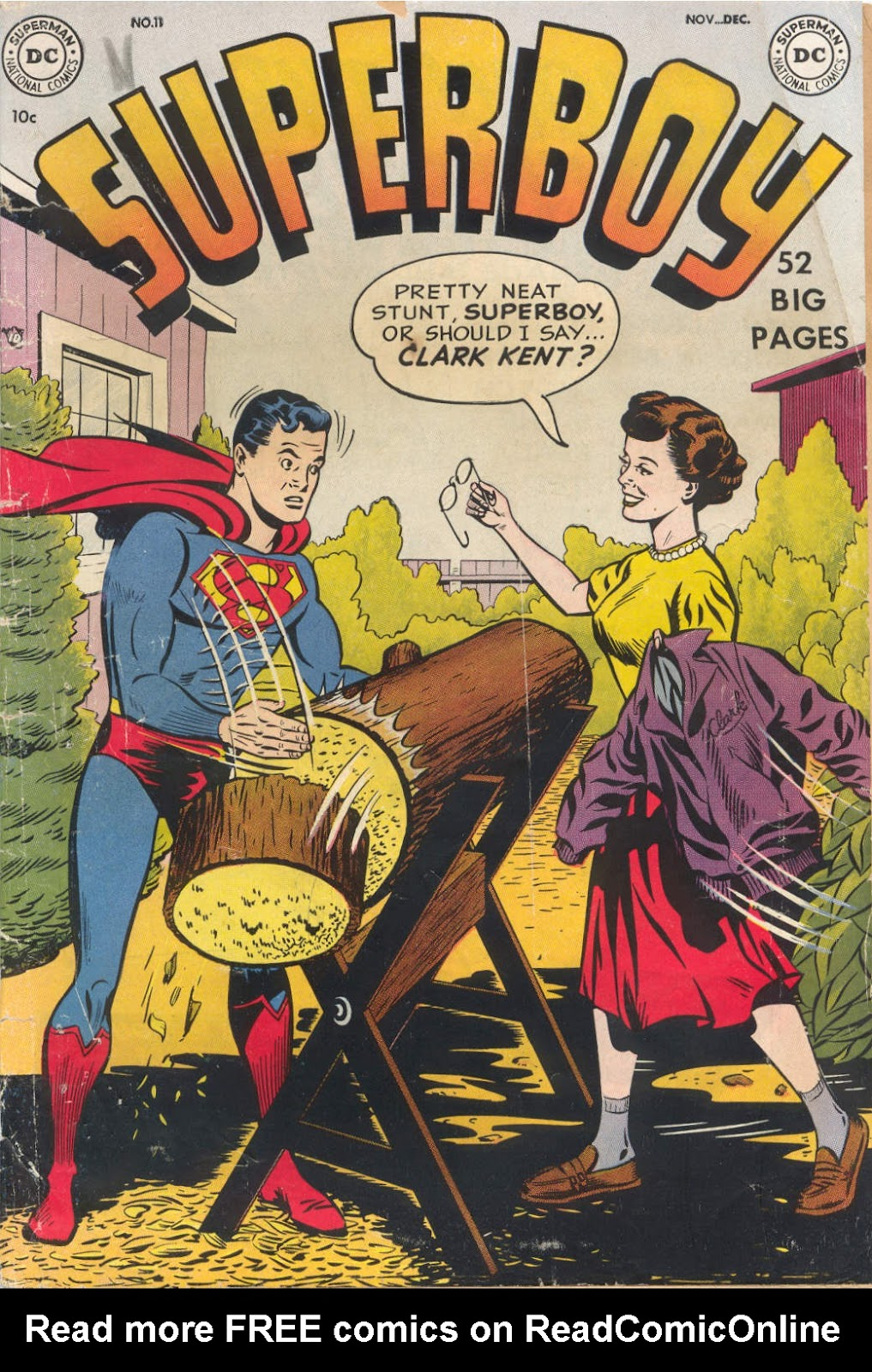 Superboy (1949) issue 11 - Page 1