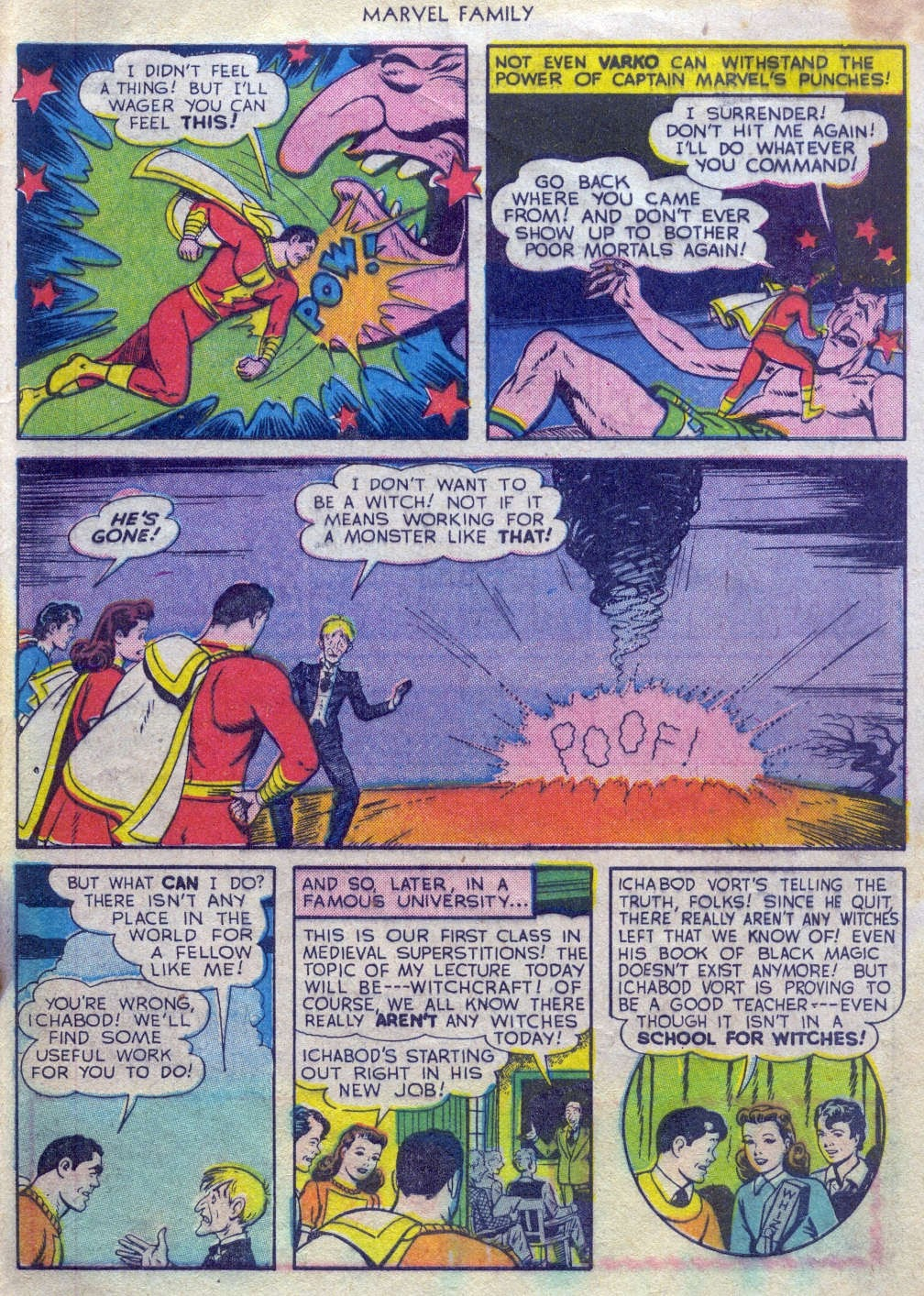 The Marvel Family issue 52 - Page 32