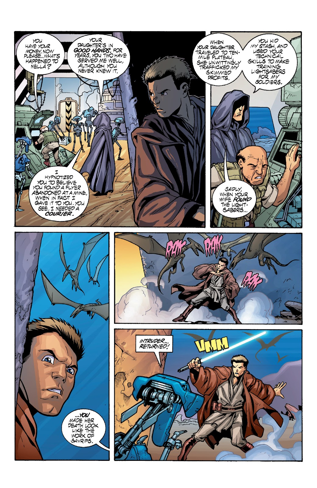 Read online Star Wars Legends: Rise of the Sith - Epic Collection comic -  Issue # TPB 1 (Part 4) - 30