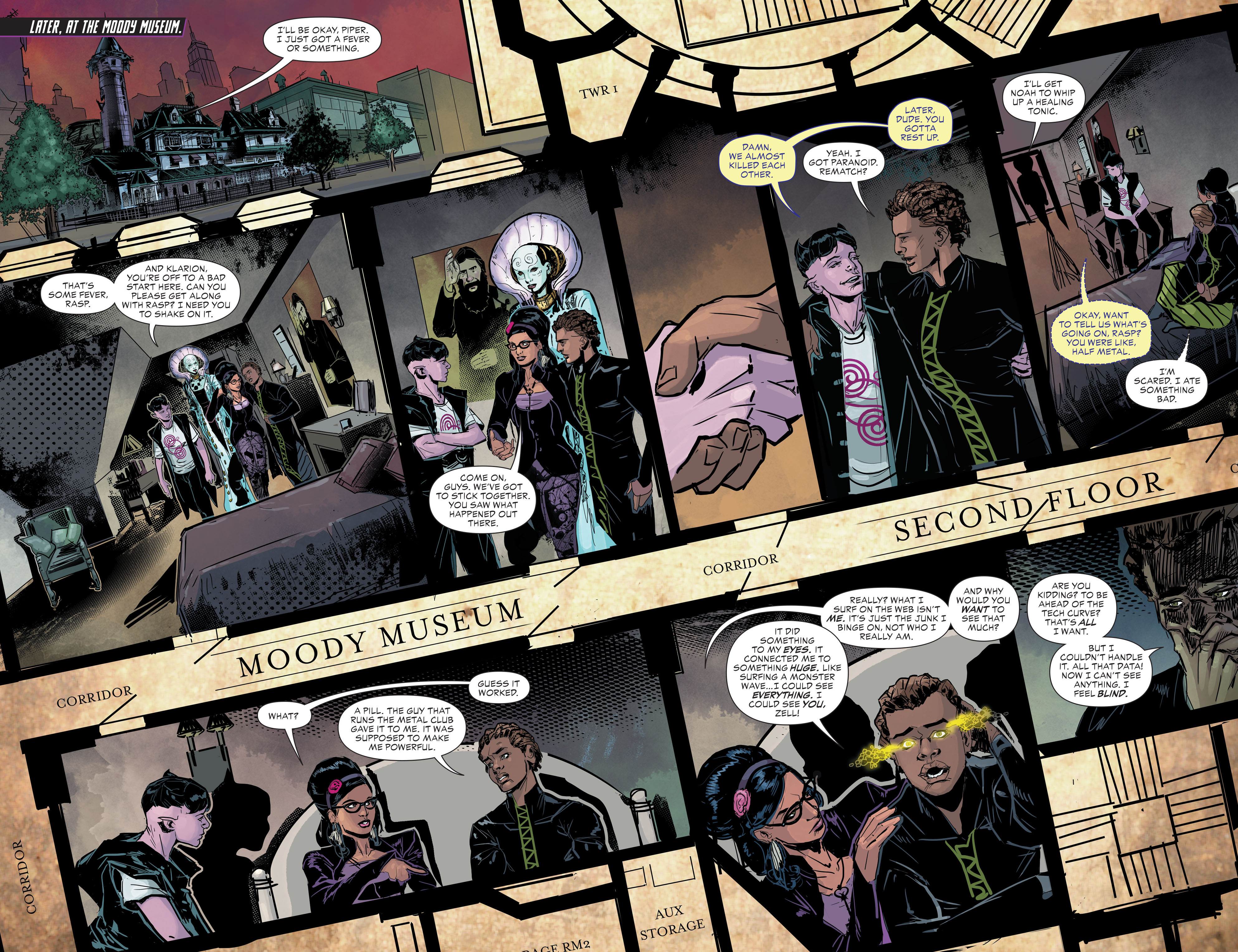 Read online Klarion comic -  Issue #2 - 7