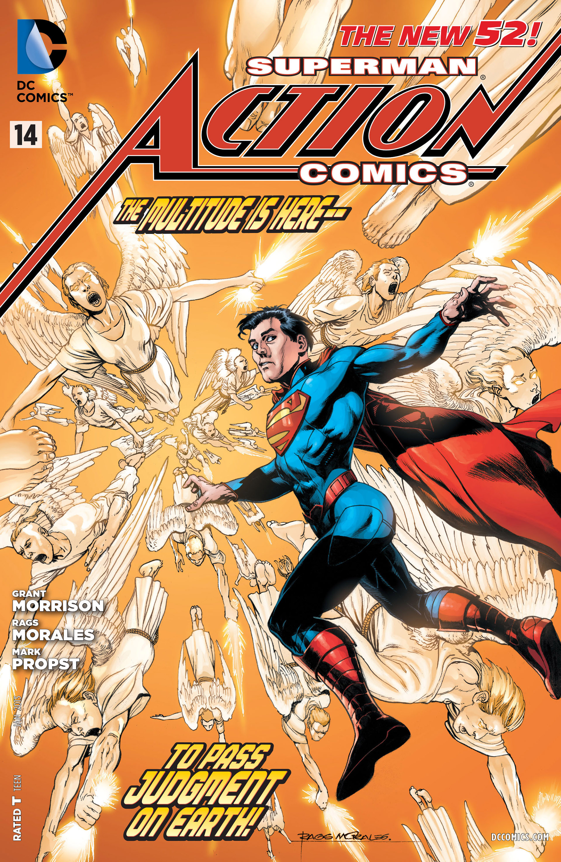 Read online Action Comics (2011) comic -  Issue #14 - 34