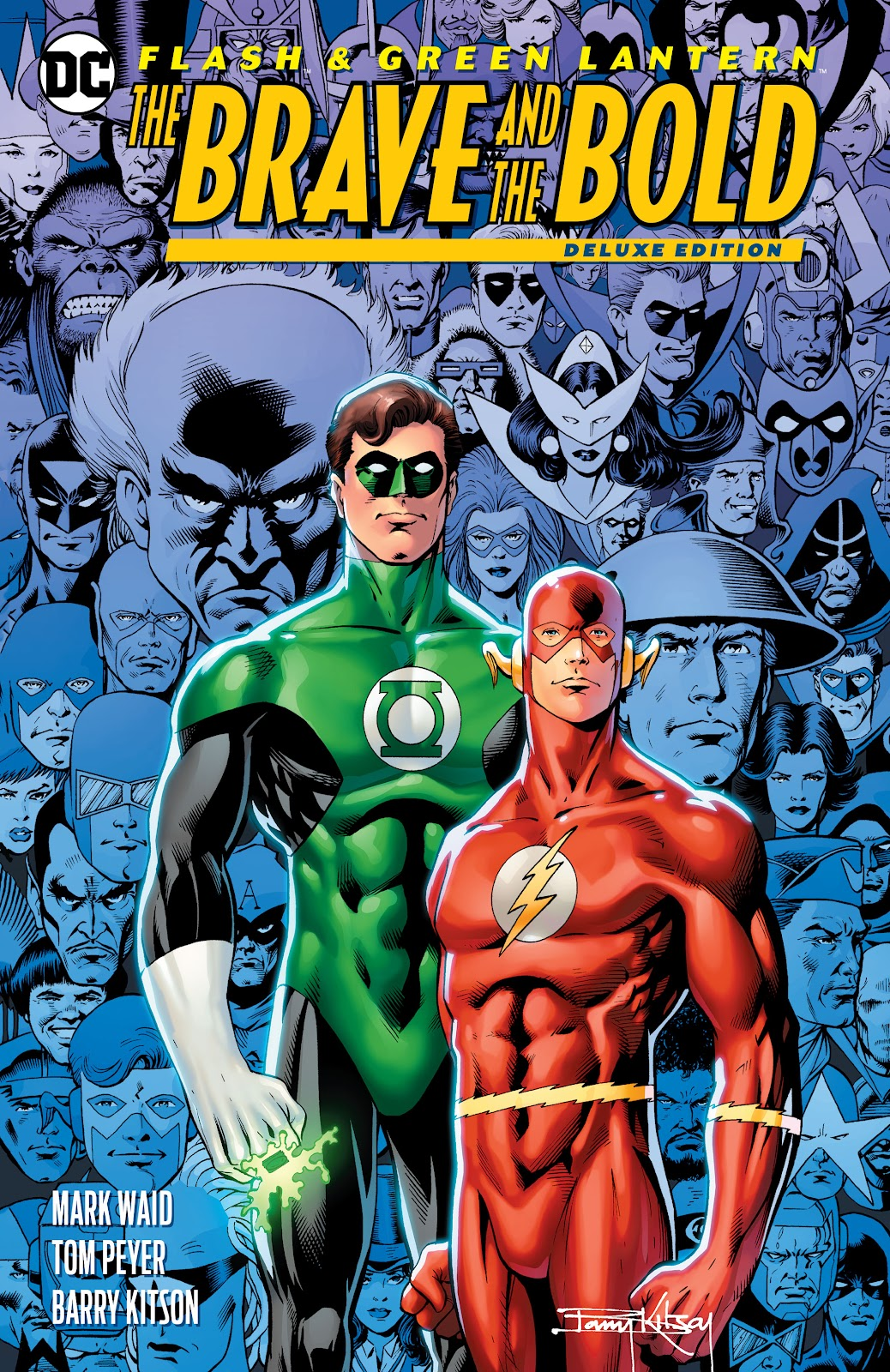 Flash & Green Lantern: The Brave and the Bold issue Deluxe Edition - Page 1