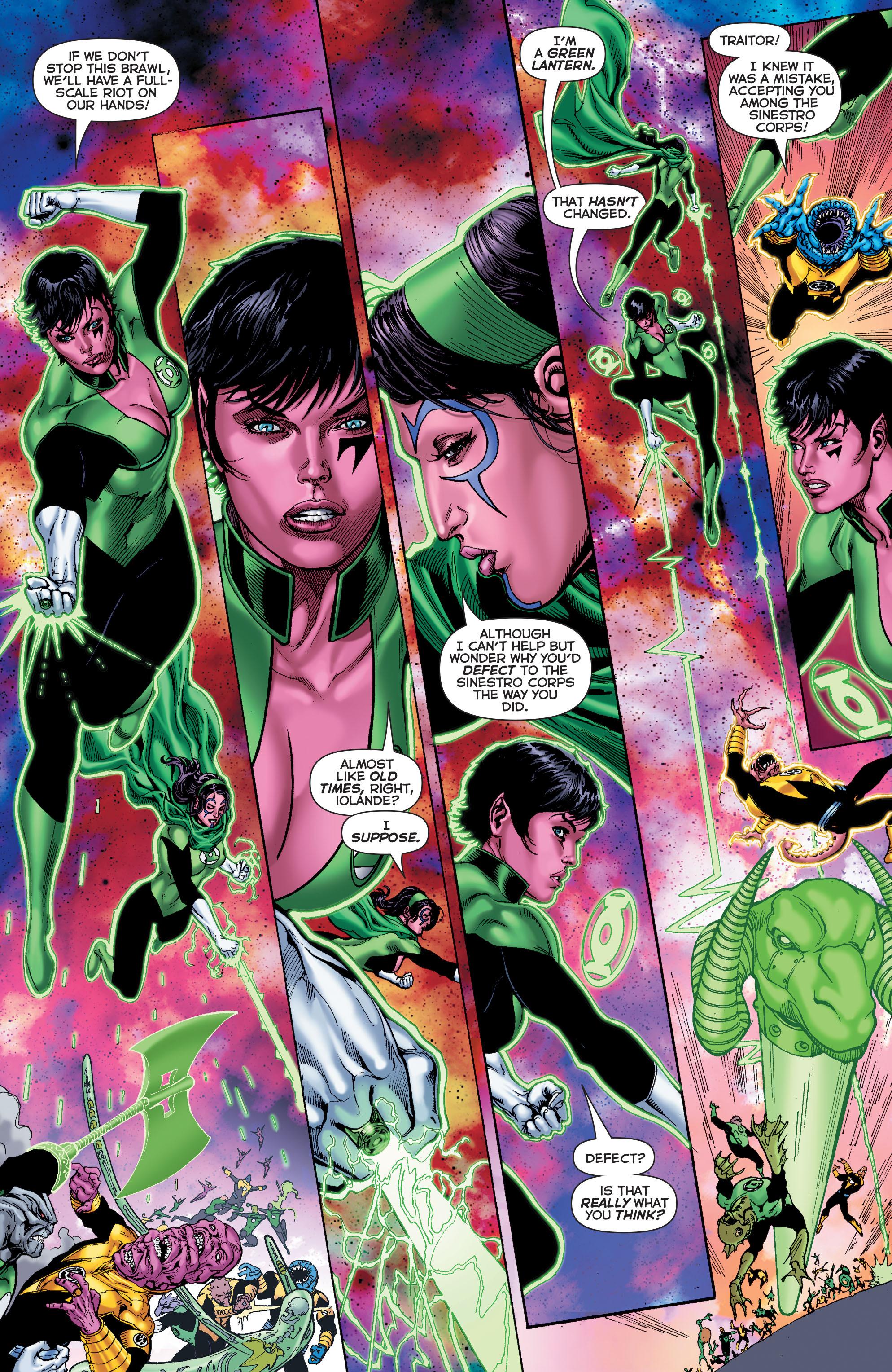 Read online Sinestro comic -  Issue #7 - 11