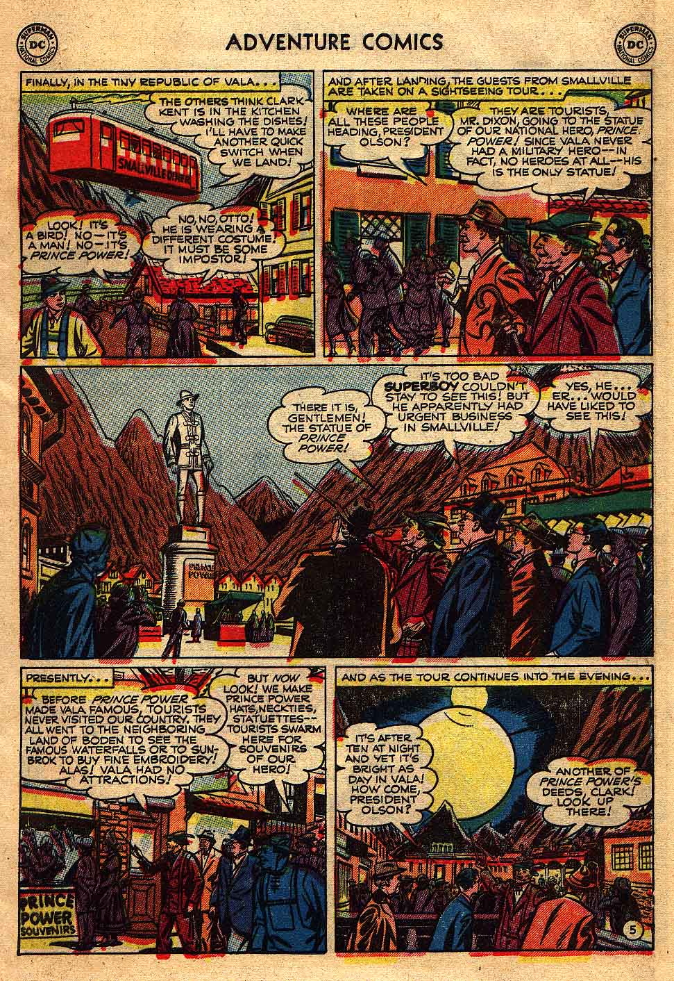 Read online Adventure Comics (1938) comic -  Issue #175 - 7
