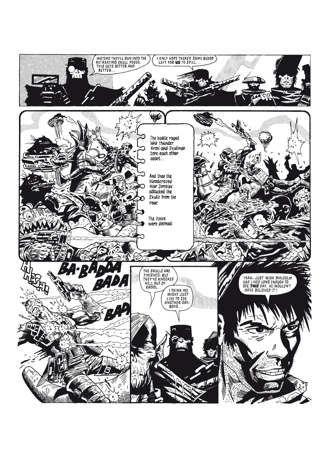 Read online The Complete Bad Company comic -  Issue # TPB - 72
