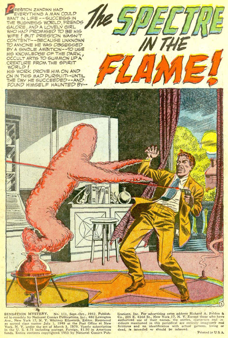 Read online Sensation (Mystery) Comics comic -  Issue #111 - 3