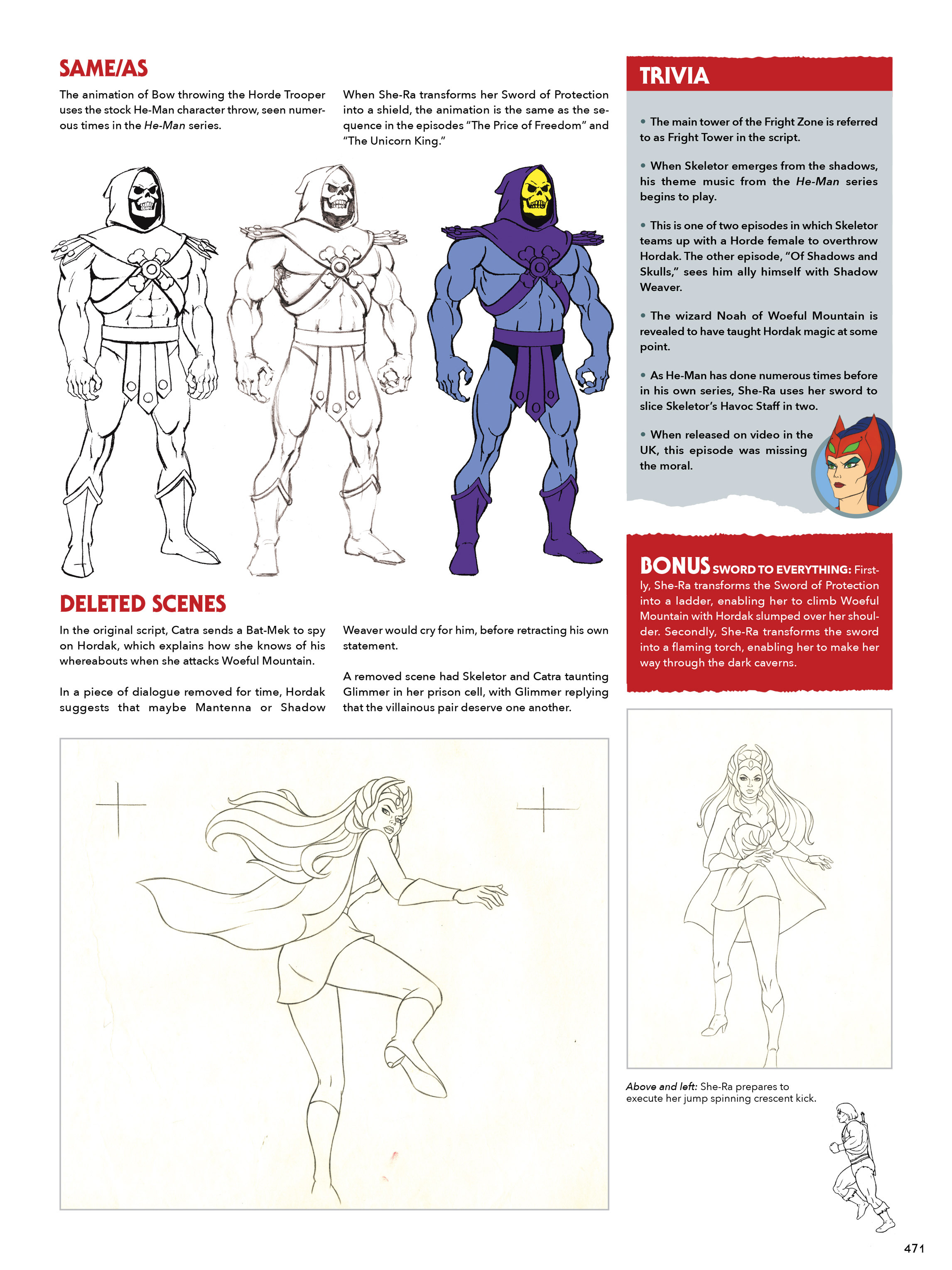 Read online He-Man and She-Ra: A Complete Guide to the Classic Animated Adventures comic -  Issue # TPB (Part 3) - 71