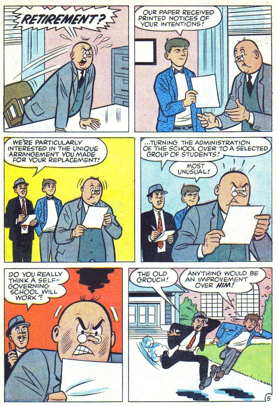 Read online Archie (1960) comic -  Issue #166 - 7