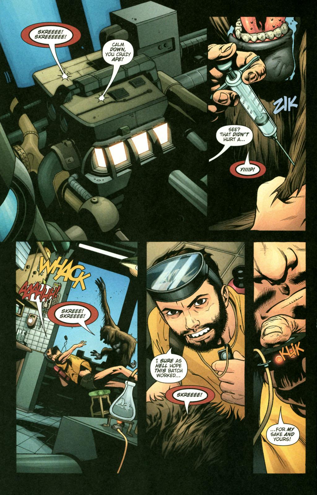 Read online Aquaman (2003) comic -  Issue #22 - 10