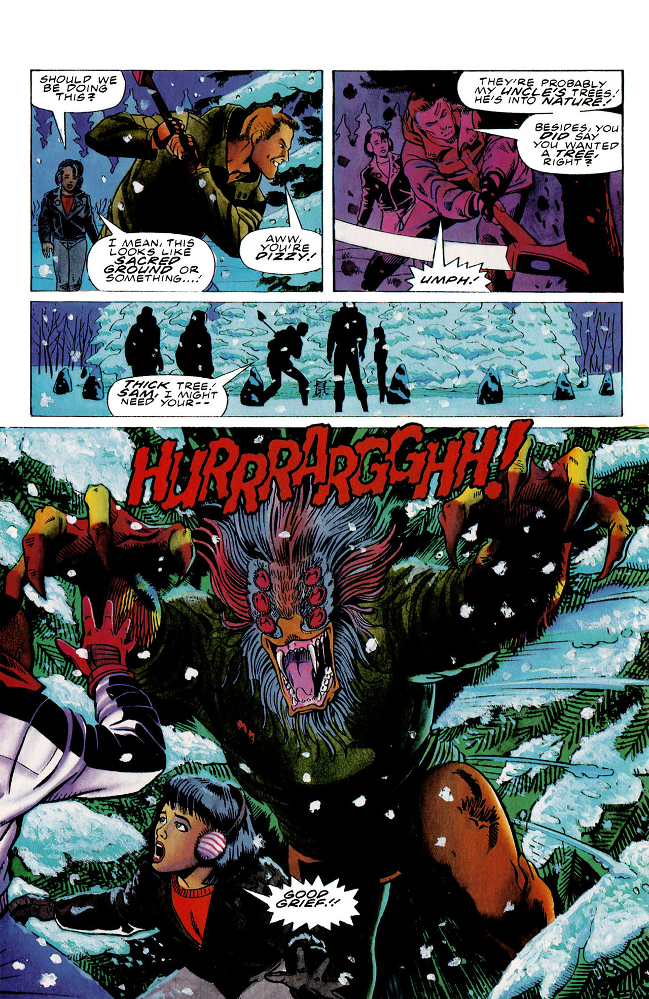 Read online Harbinger (1992) comic -  Issue #27 - 16