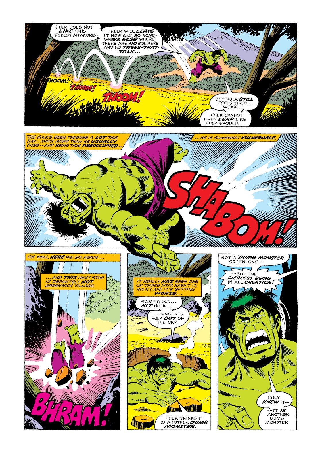 Read online Marvel Masterworks: The Incredible Hulk comic -  Issue # TPB 12 (Part 1) - 66