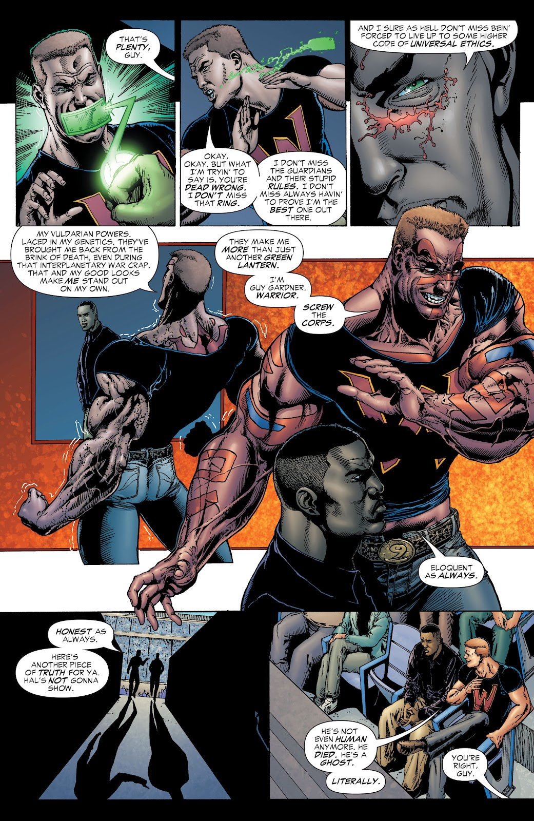 Read online Green Lantern by Geoff Johns comic -  Issue # TPB 1 (Part 1) - 20