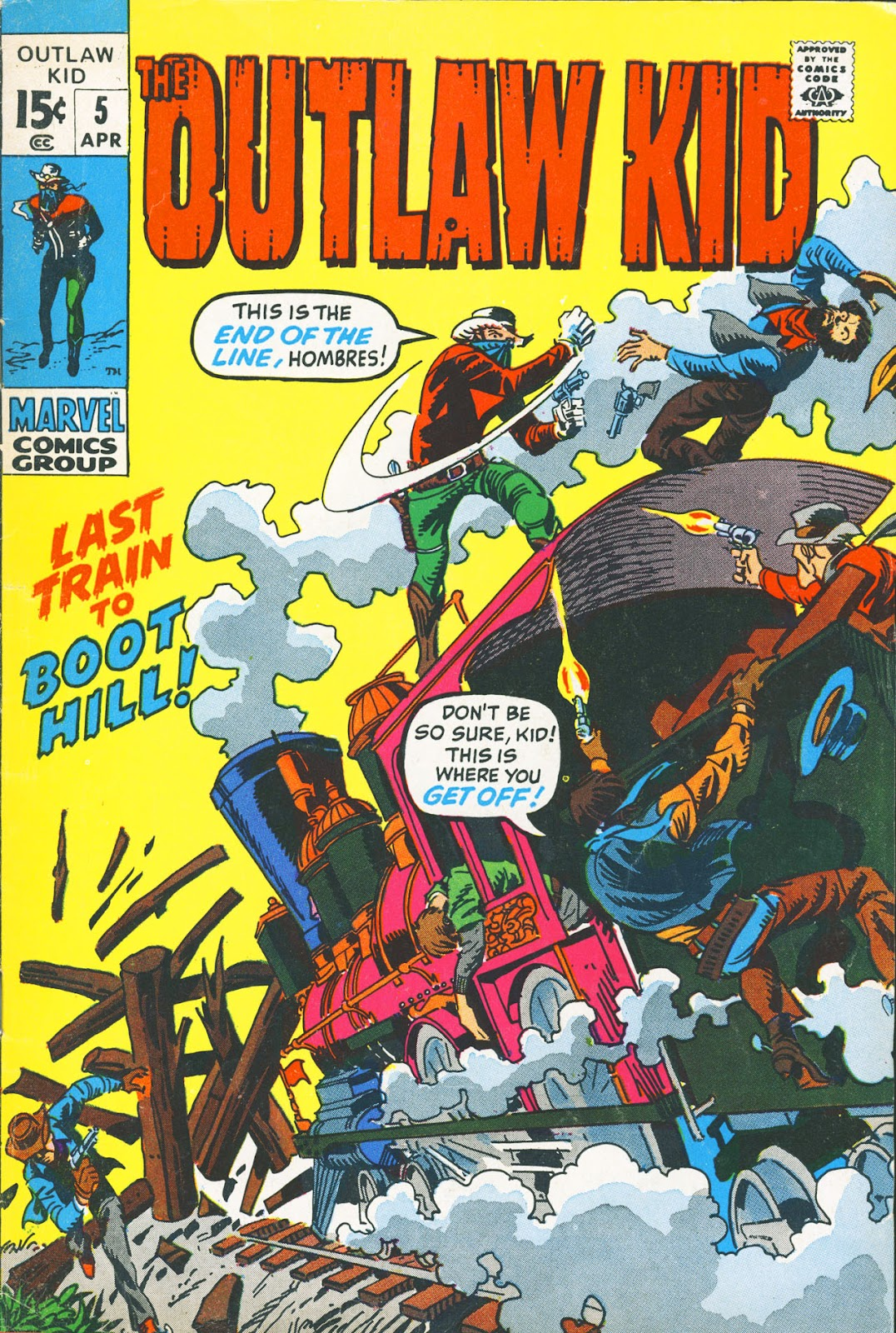 The Outlaw Kid (1970) issue 5 - Page 1