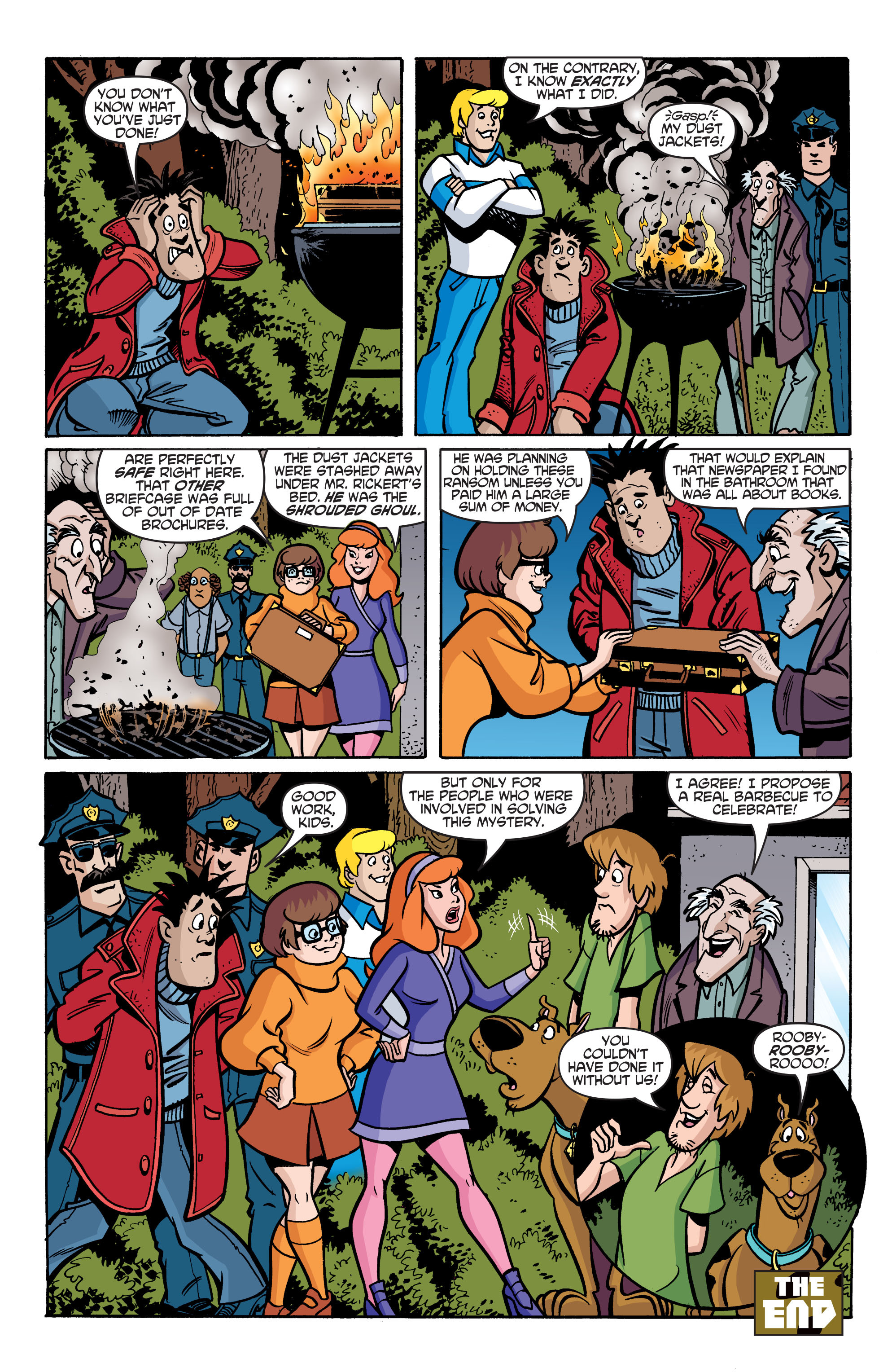 Read online Scooby-Doo: Where Are You? comic -  Issue #76 - 21