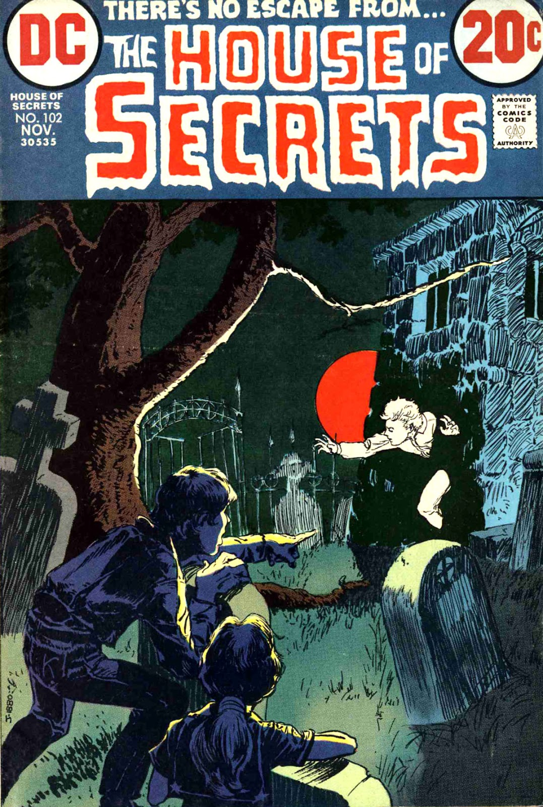 House of Secrets (1956) issue 102 - Page 1