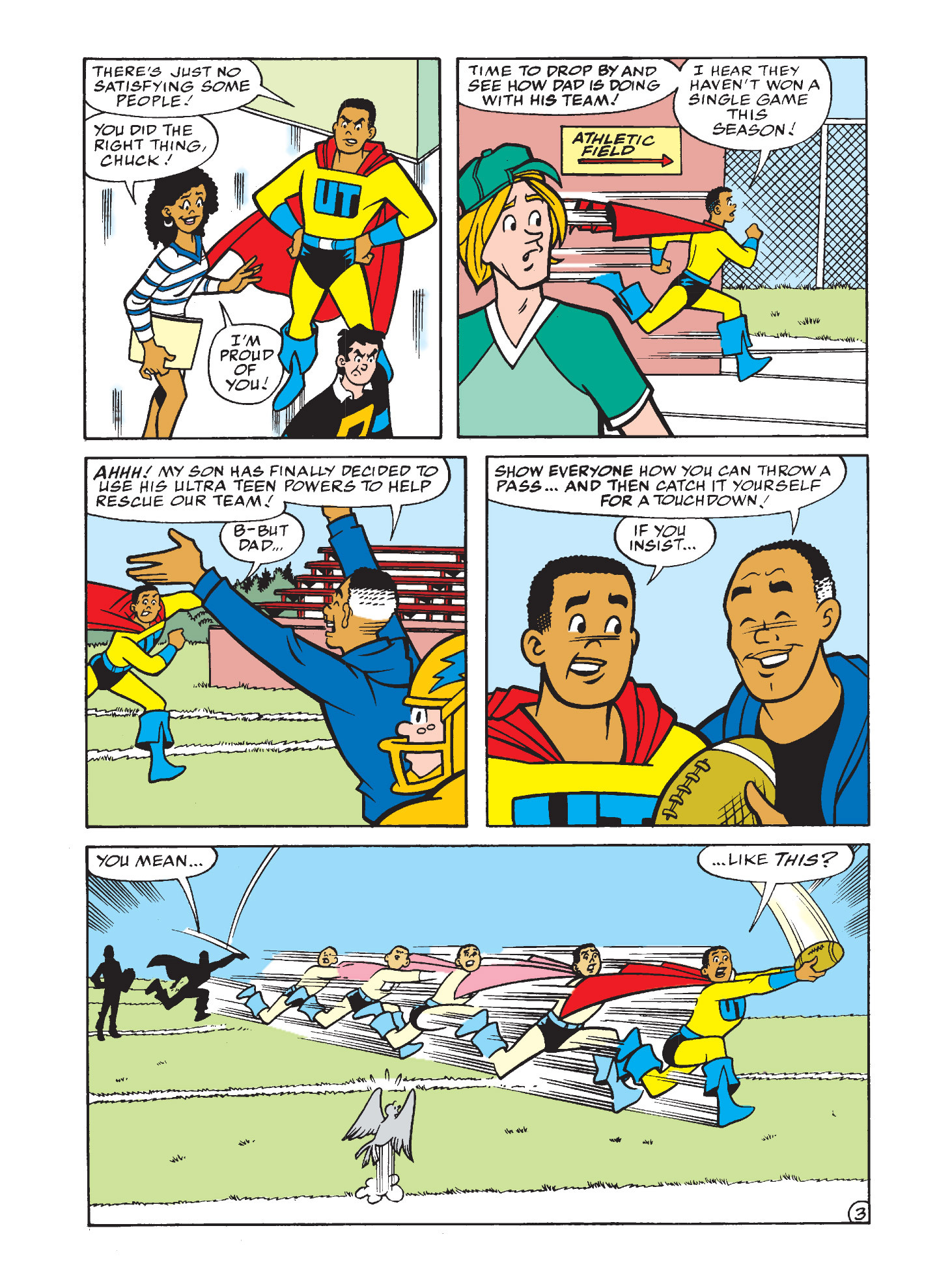 Read online Archie's Funhouse Double Digest comic -  Issue #3 - 4