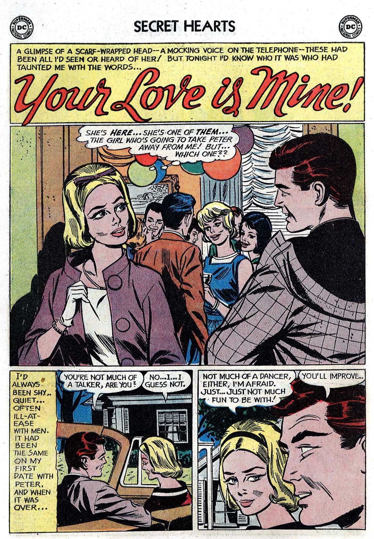 Read online Secret Hearts comic -  Issue #82 - 18