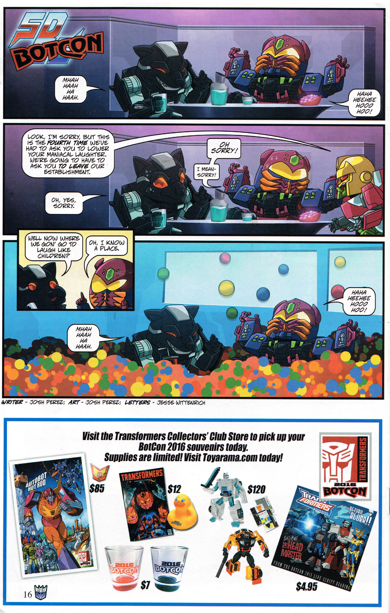 Read online Transformers: Collectors' Club comic -  Issue #69 - 16