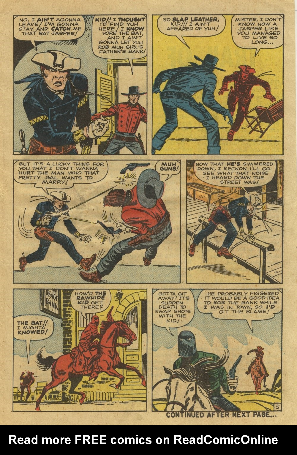 The Rawhide Kid (1955) issue 25 - Page 7