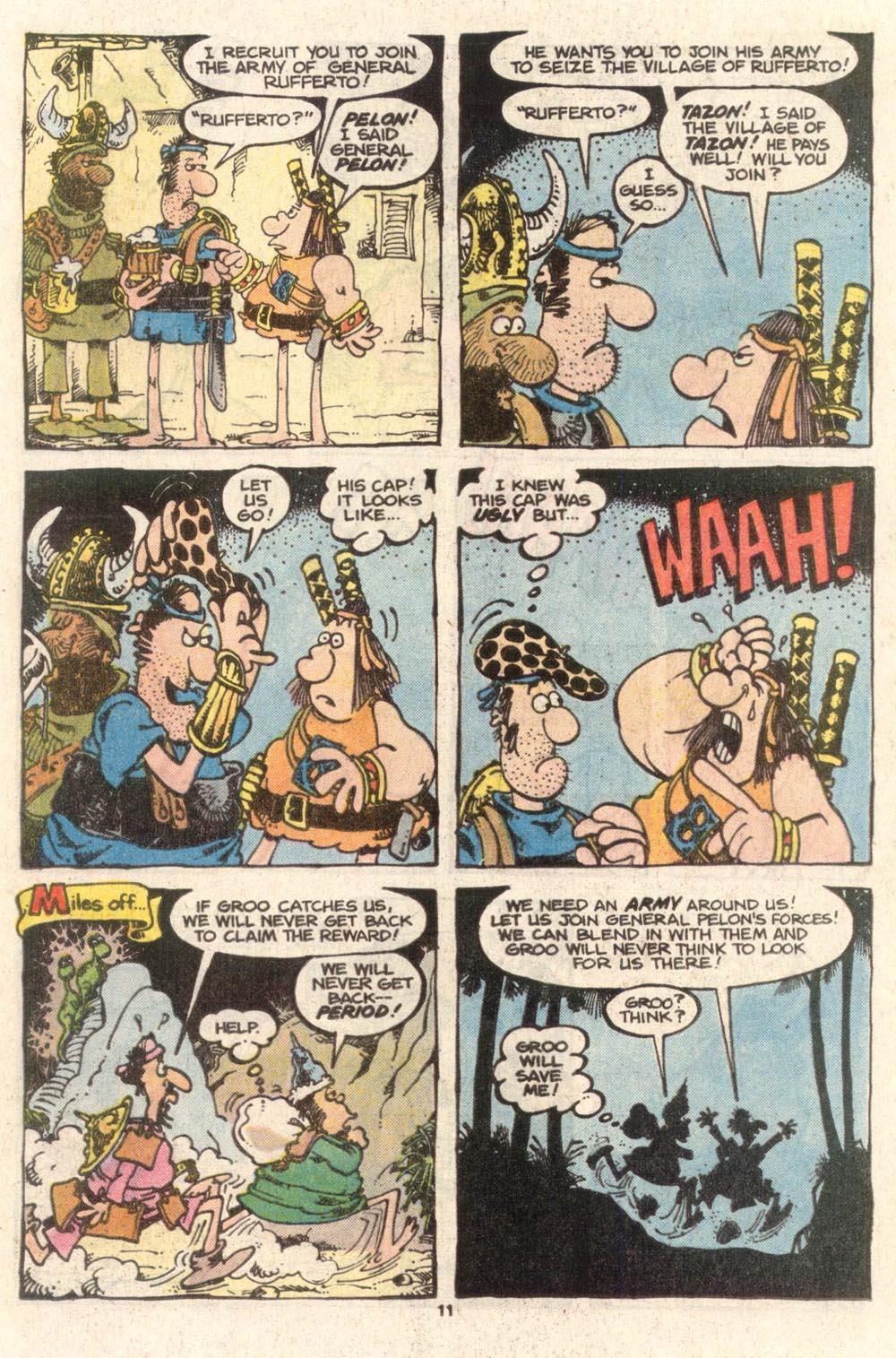 Read online Sergio Aragonés Groo the Wanderer comic -  Issue #38 - 11