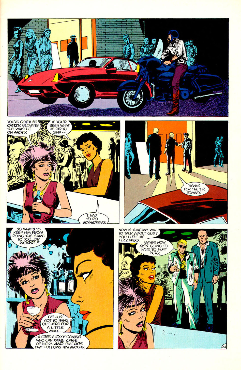 Jon Sable, Freelance issue 51 - Page 25