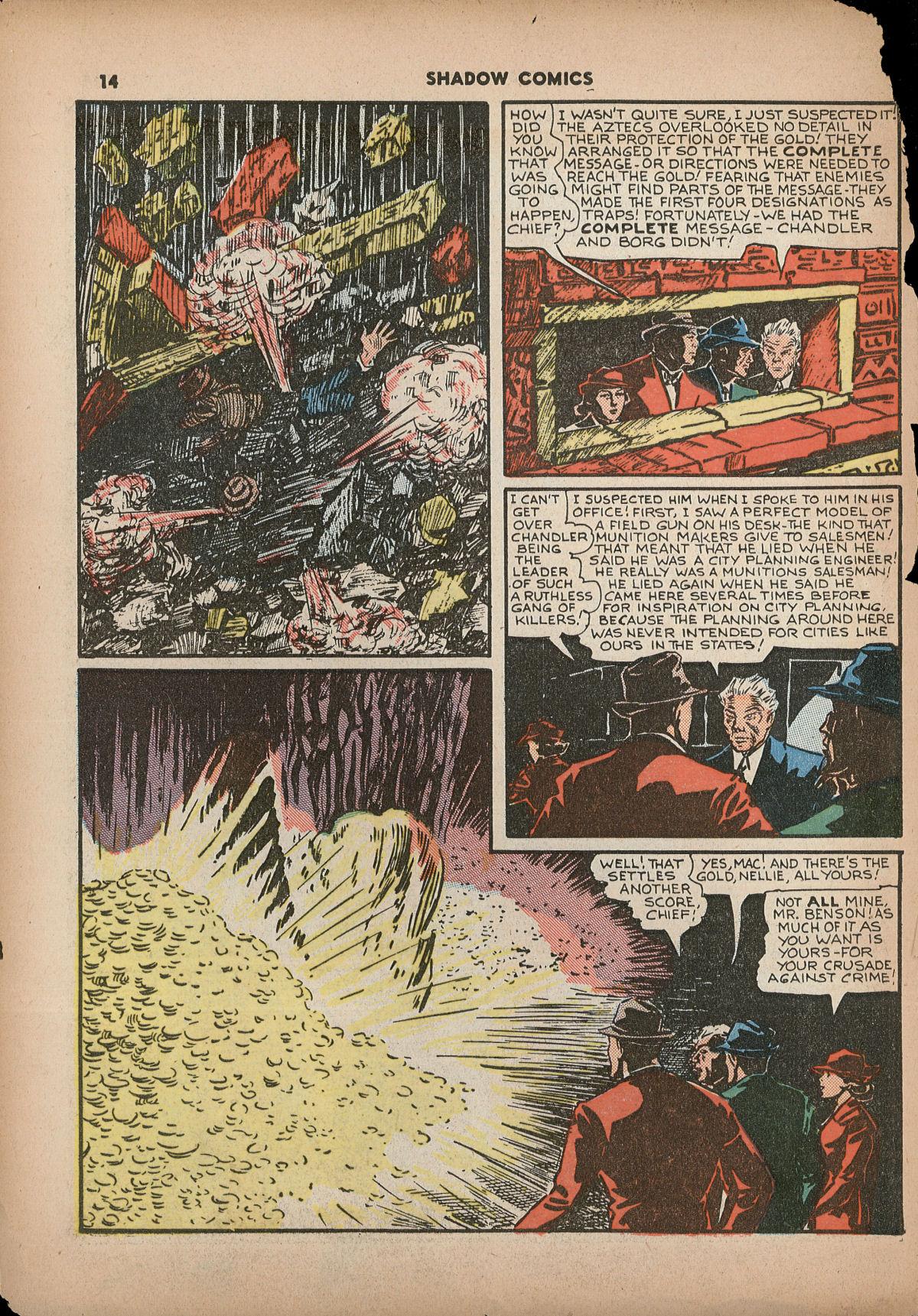 Read online Shadow Comics comic -  Issue #2 - 17
