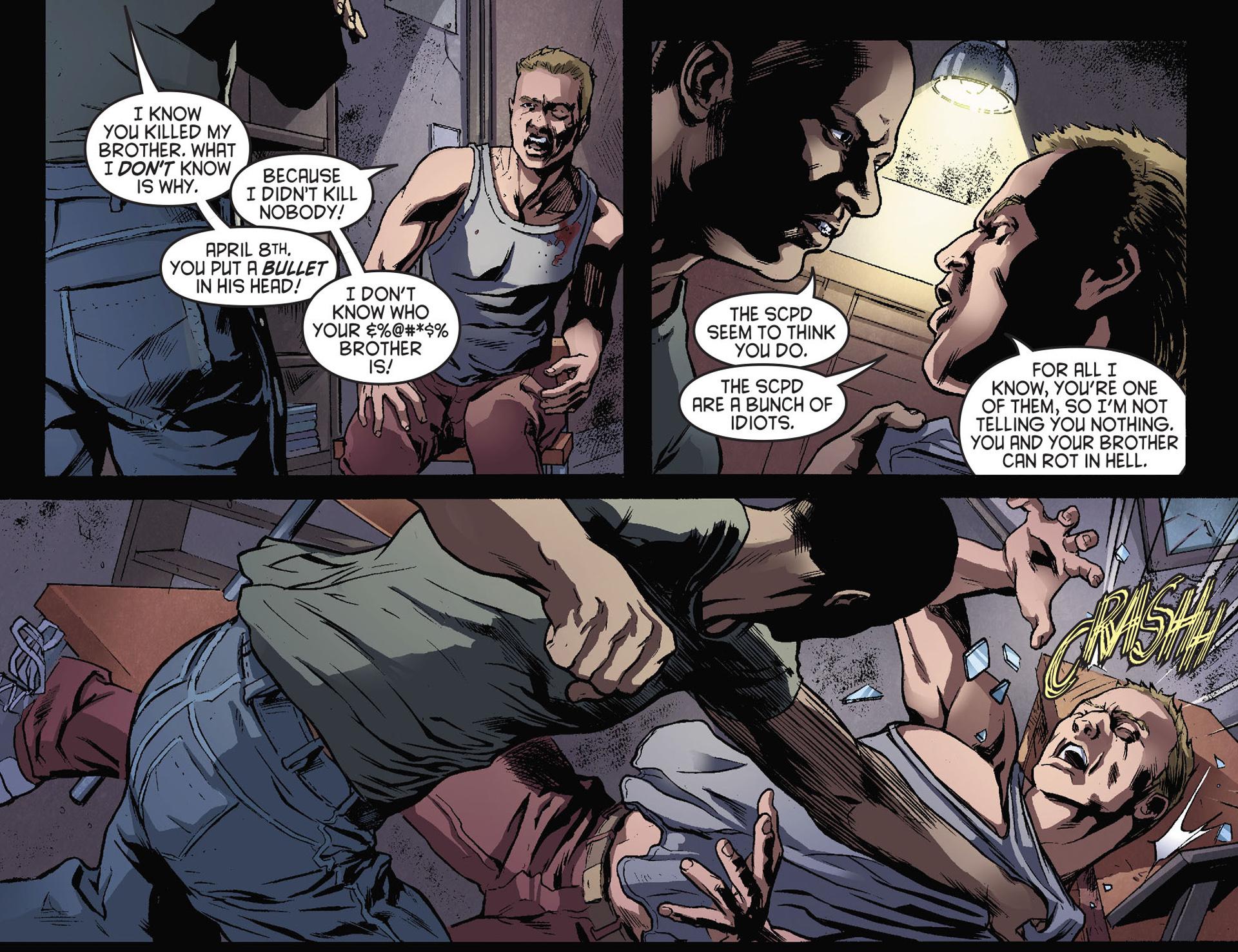 Read online Arrow [II] comic -  Issue #28 - 17