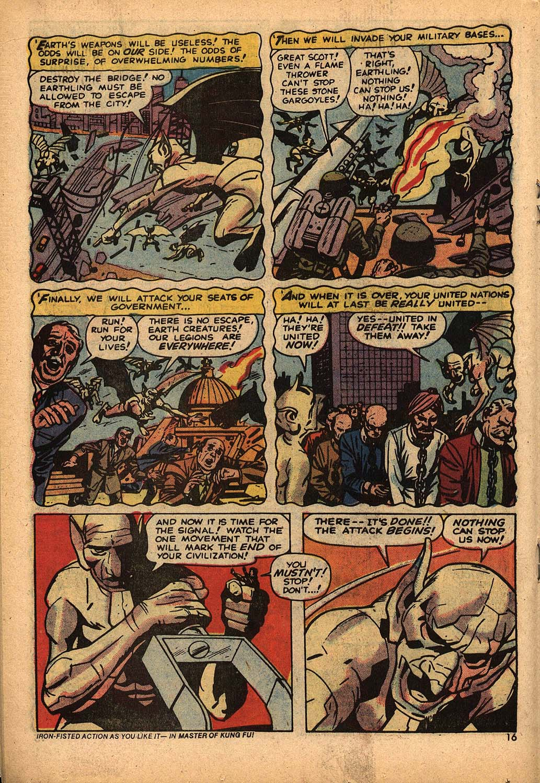 Read online Astonishing Tales (1970) comic -  Issue #22 - 10