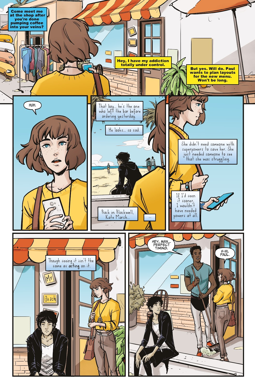 Read online Life is Strange comic -  Issue #5 - 18