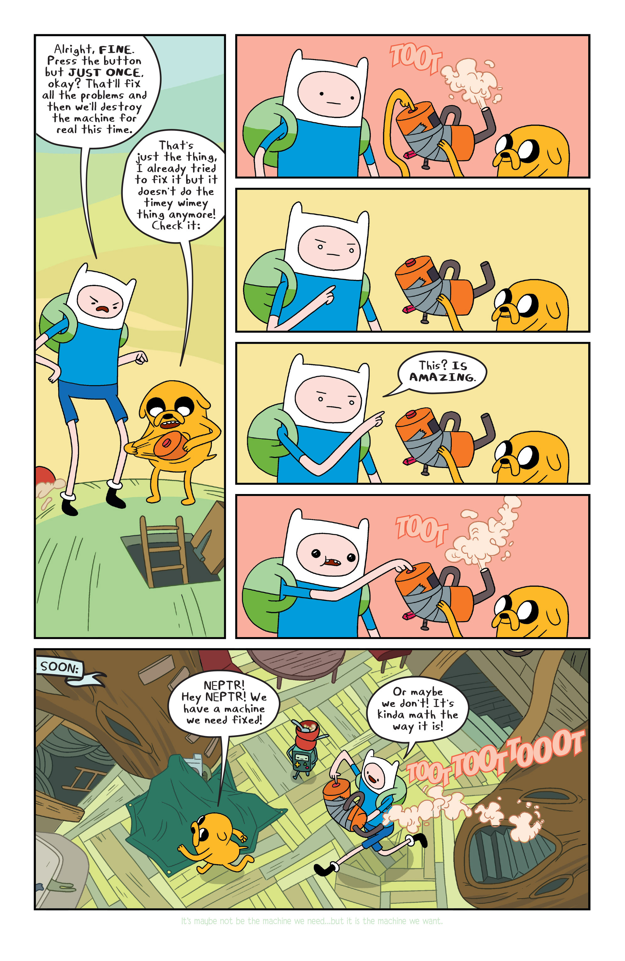 Read online Adventure Time comic -  Issue #7 - 9