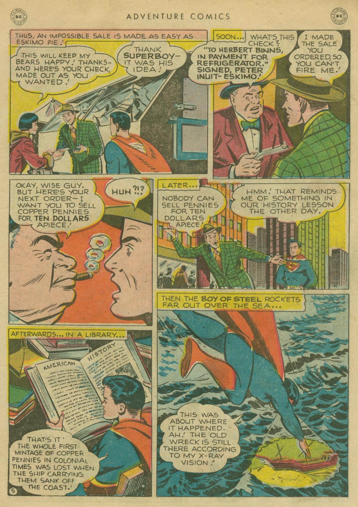 Read online Adventure Comics (1938) comic -  Issue #130 - 6