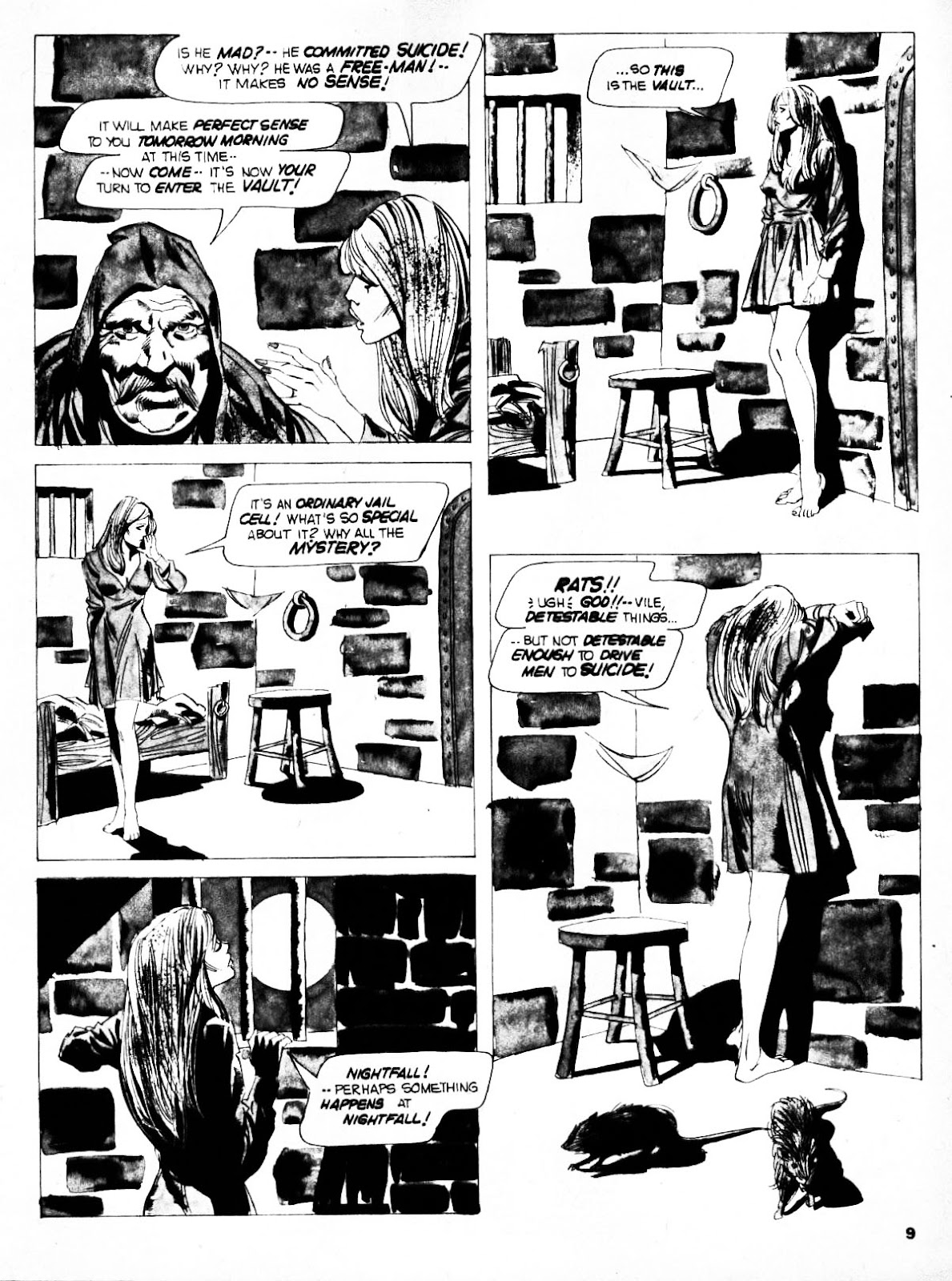 Nightmare (1970) issue 21 - Page 9