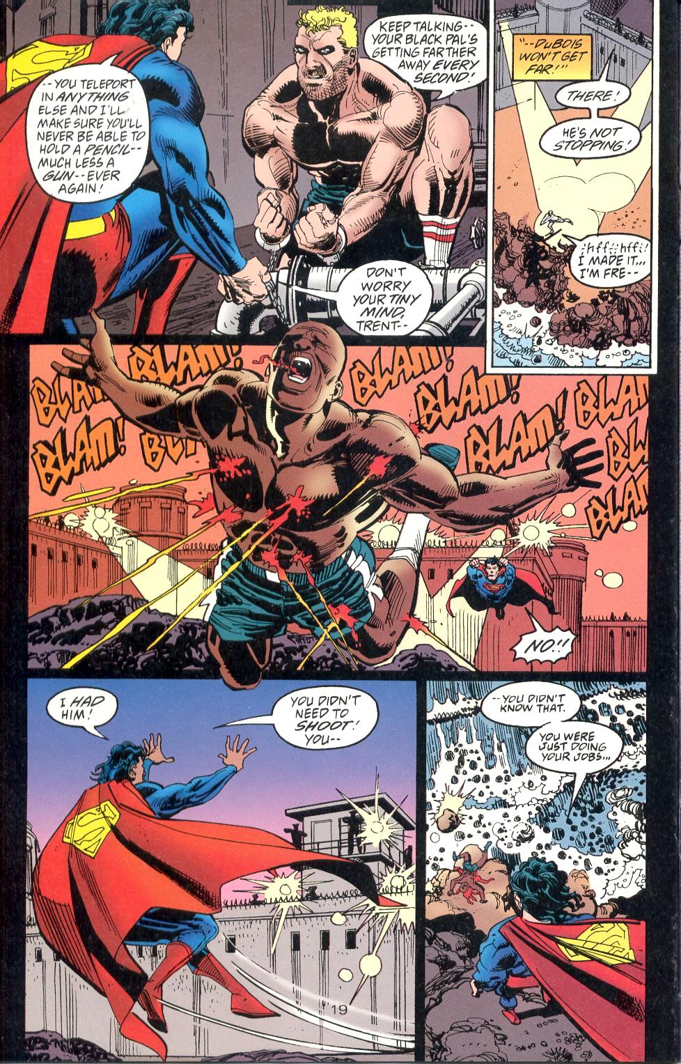 Read online Adventures of Superman (1987) comic -  Issue #526 - 20